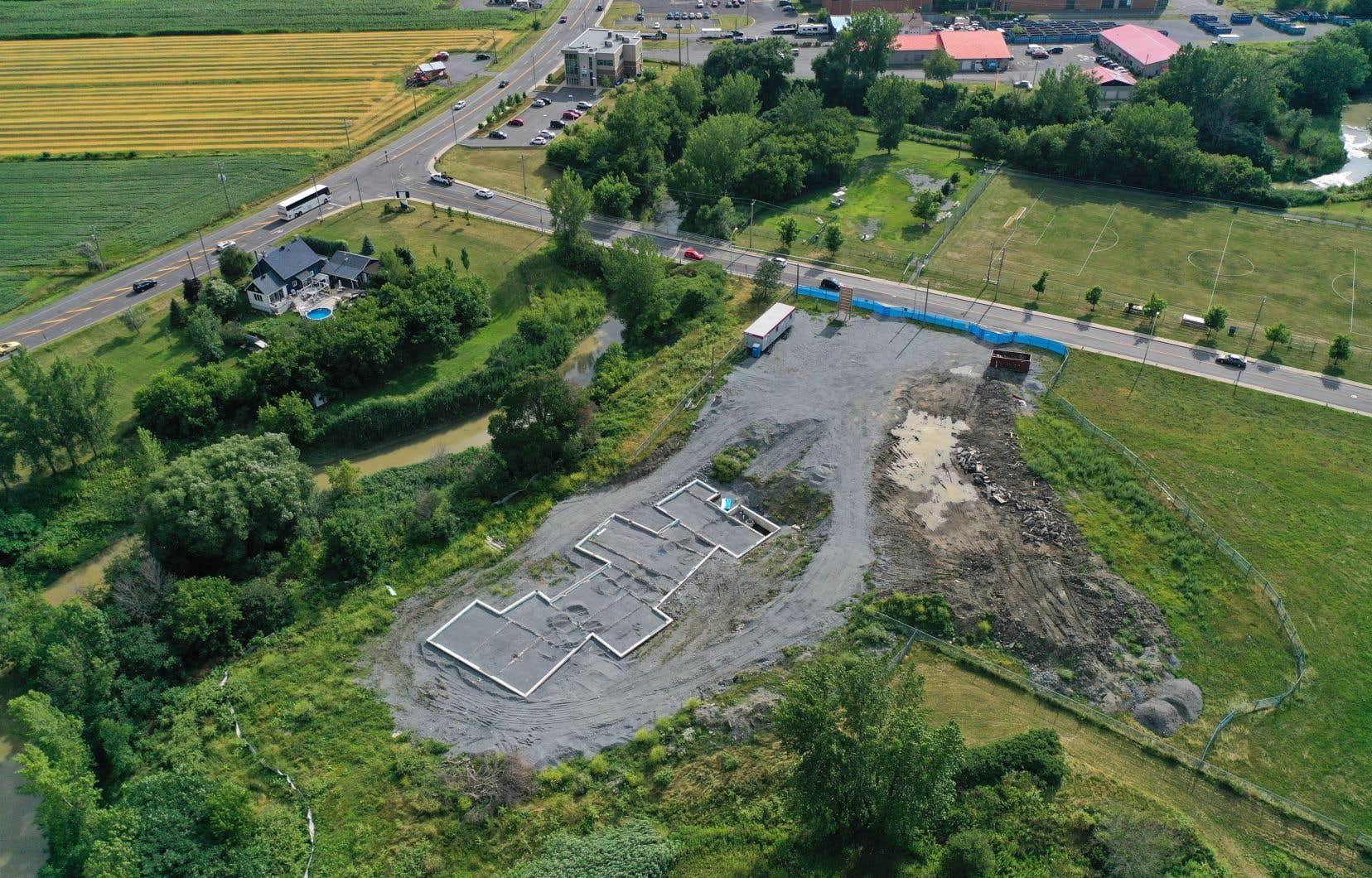 Un projet immobilier de 127 unités résidentielles sera réalisé dans le parc municipal de Varennes.