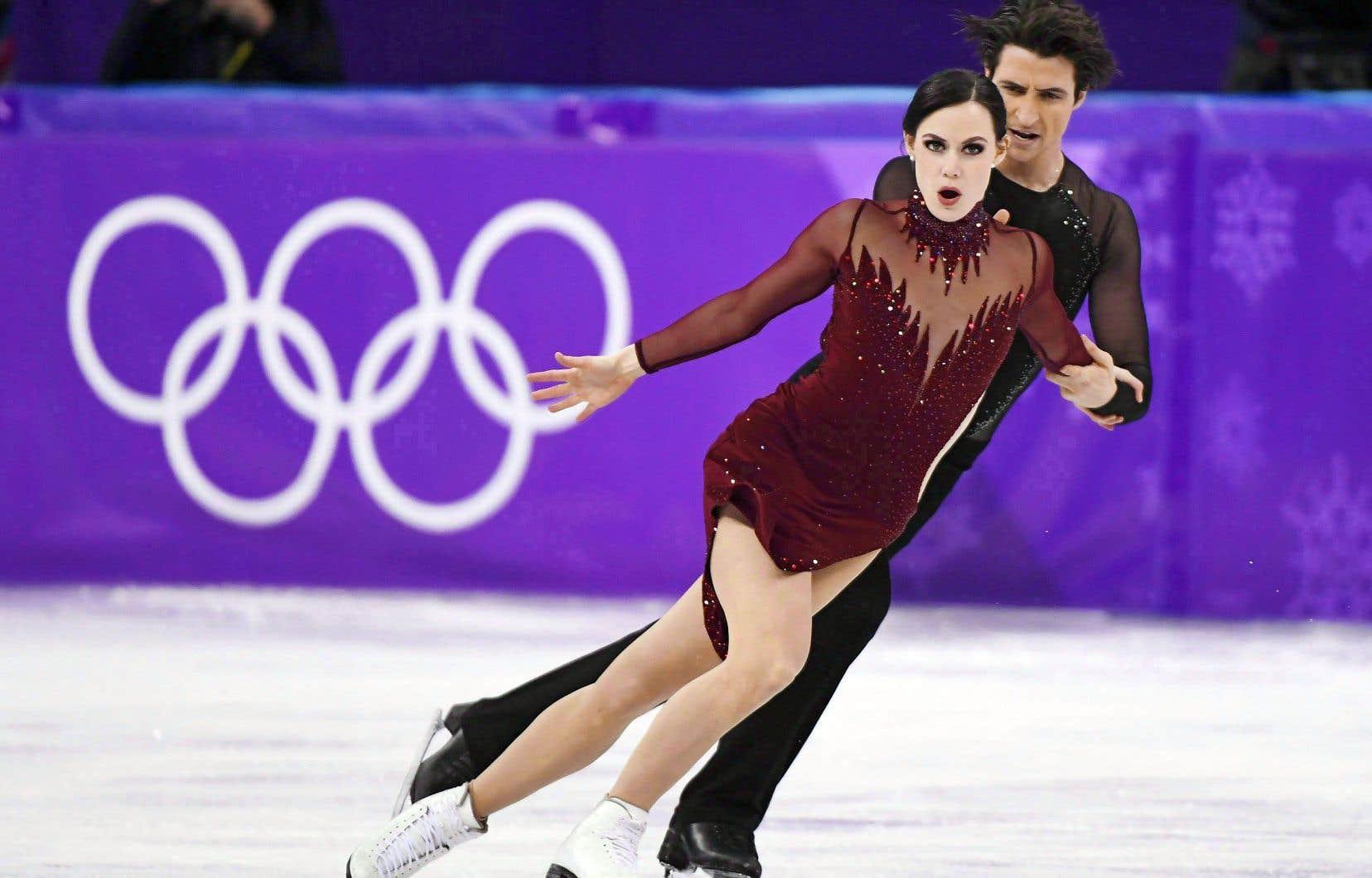 Les patineurs avaient enflammé le Canada lors des derniers Jeux olympiques d'hiver en Corée du Sud.