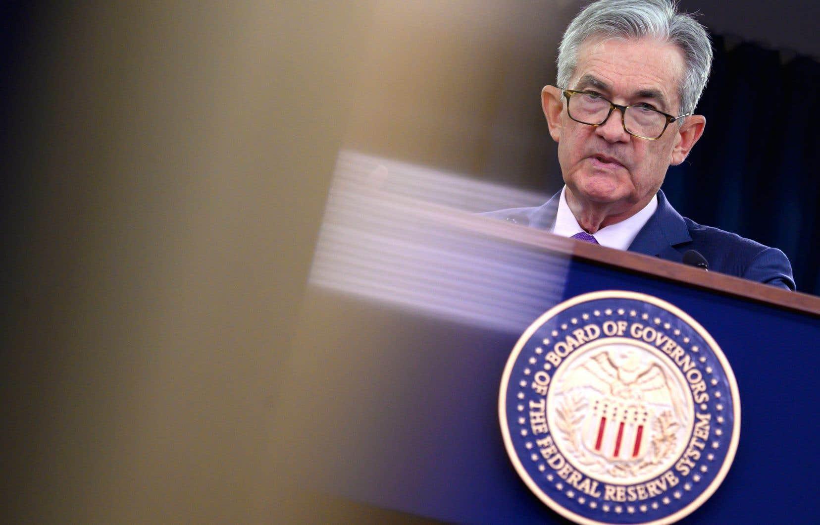Interrogé sur le recours à des taux négatifs en cas de ralentissement, comme le font l'Europe et le Japon, le président de la Fed, Jerome Powell, s'est montré peu enthousiaste.