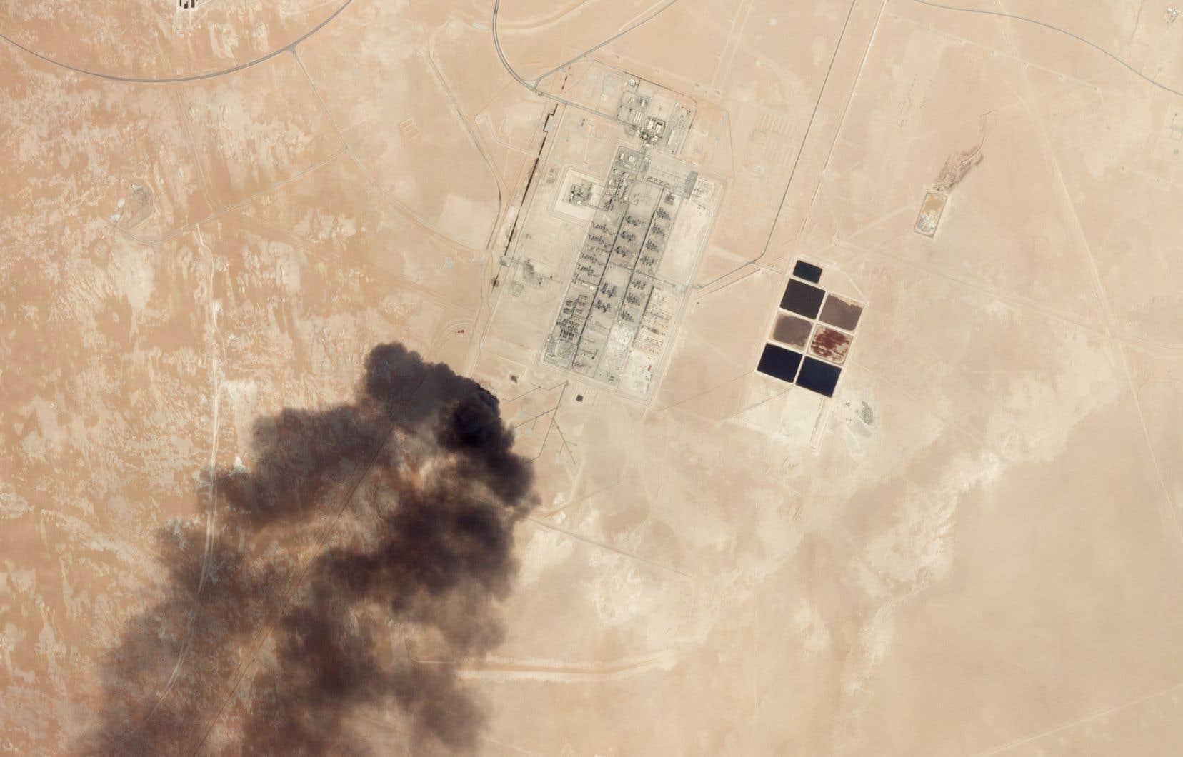 L'Arabie saoudite a accusé mercredi l'Iran d'avoir «parrainé» les attaques de samedi contre des installations pétrolières.