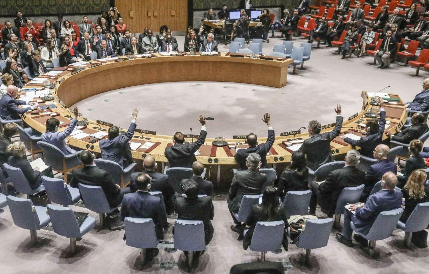 Il s'agit du 13eveto de la Russie à une résolution sur la Syrie depuis le début du conflit en 2011.