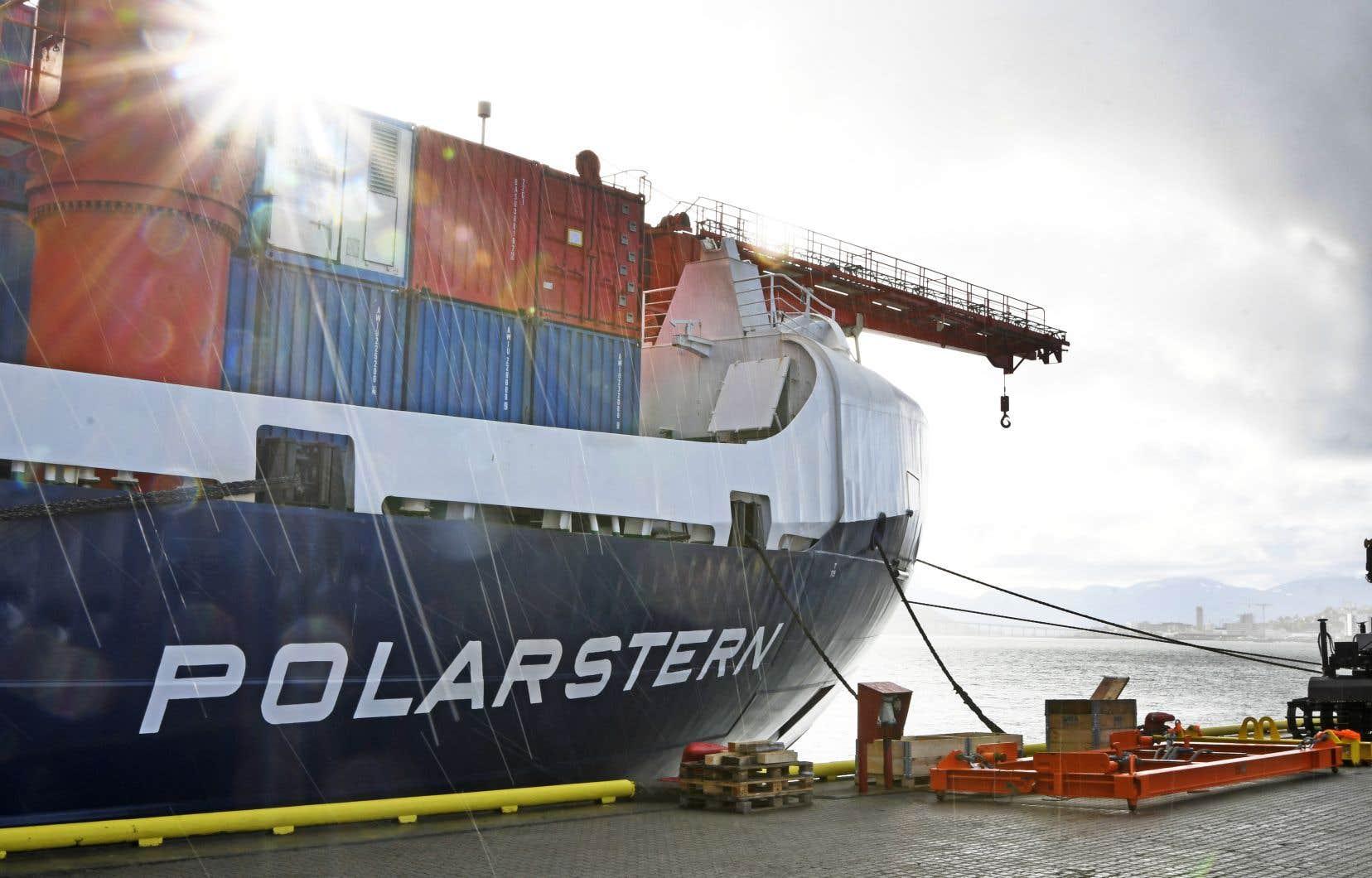 Le brise-glace «Polarstern» doit quitter le port norvégien de Tromsø vers 20h30 dans le cadre de cette mission géante baptisée «Mosaic».
