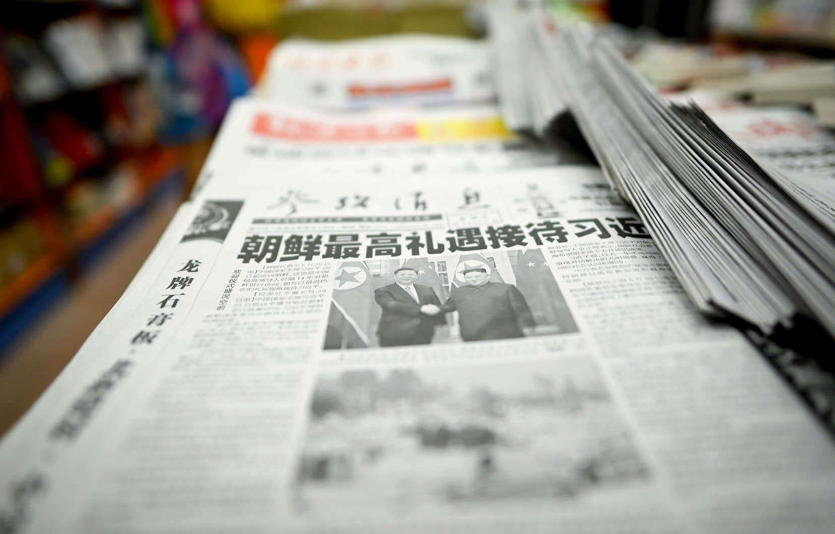 Une occasion de plus pour le Parti communiste chinois de mettre sa propagande au service de la fabrication du consentement au sein de sa population.