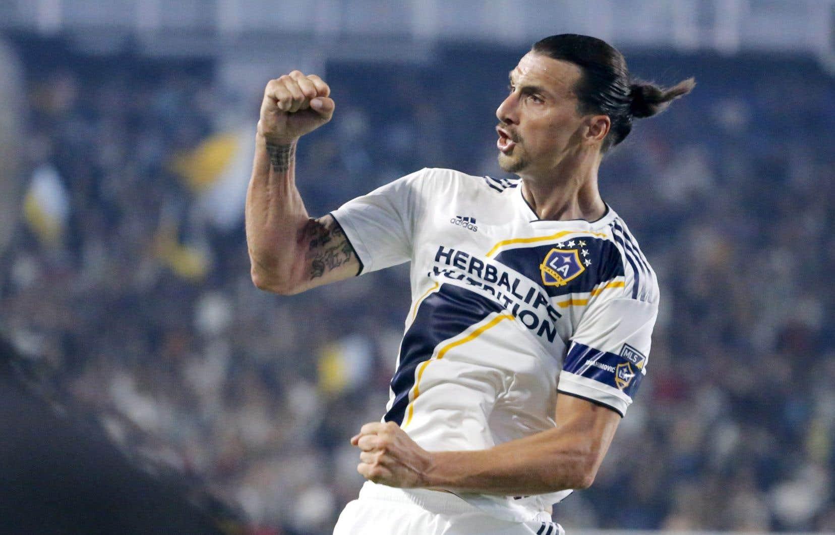 Zlatan Ibrahimovic, du Galaxy de Los Angeles, est le dernier obstacle sur la route improbable de Montréal vers les séries éliminatoires.