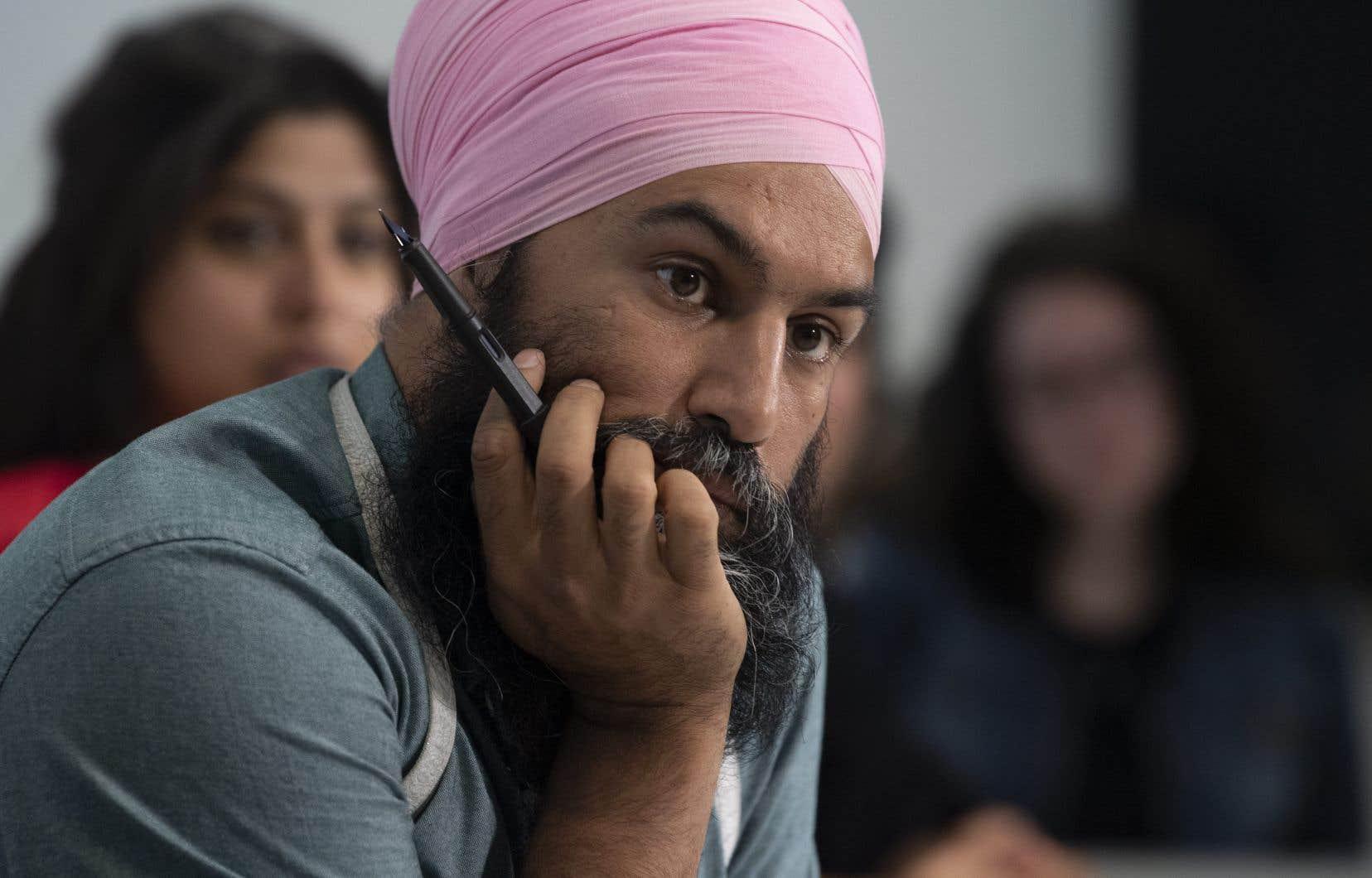 À la suite des révélations sur Justin Trudeau, l'équipe libérale avait rapidement contacté les néo-démocrates pour organiser un entretien avec Jagmeet Singh, la seule personne racisée à diriger l'un des principaux partis fédéraux.