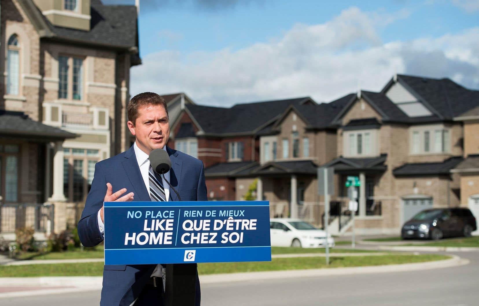 La voie suggérée par Andrew Scheer pour favoriser l'accès à la propriété va à contresens du chemin suivi par Ottawa depuis une dizaine d'années.