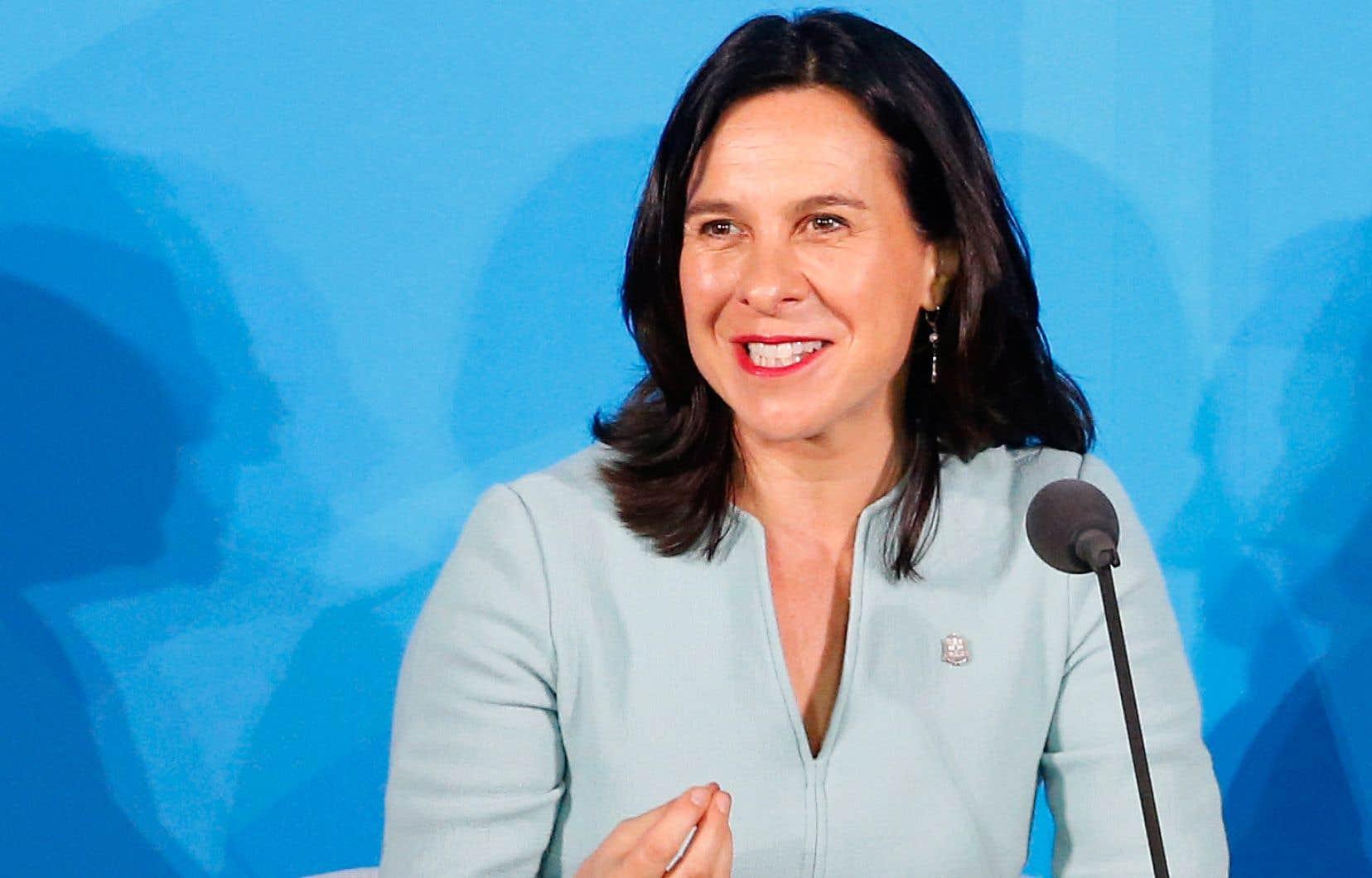 Lors de sa courte allocution lors du Sommet Action Climat, Valérie Plante a affirmé que les villes ont un rôle important à jouer dans la lutte aux changements climatiques.
