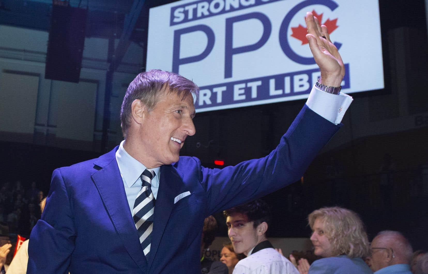 Maxime Bernier, chef du Parti populaire du Canada