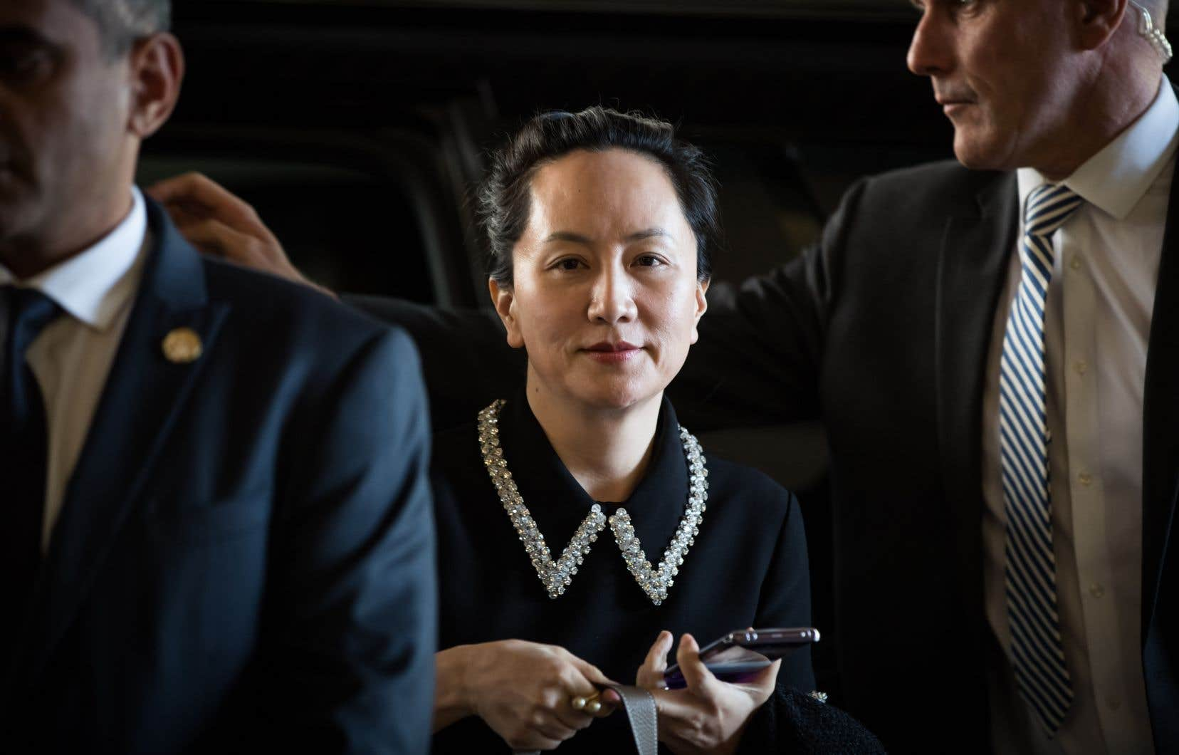 La directrice financière de Huawei, Meng Wanzhou