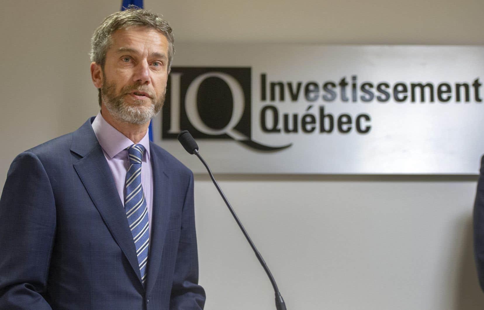 Le nouveau p.-d.g. d'Investissement Québec, Guy LeBlanc