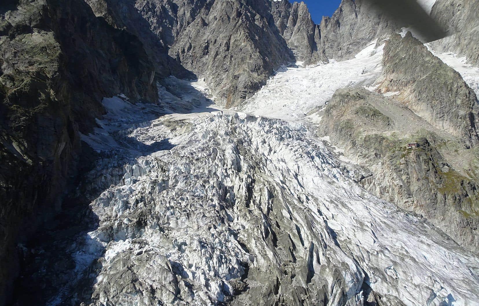 Le glacier Planpincieux pourrait s'écrouler.