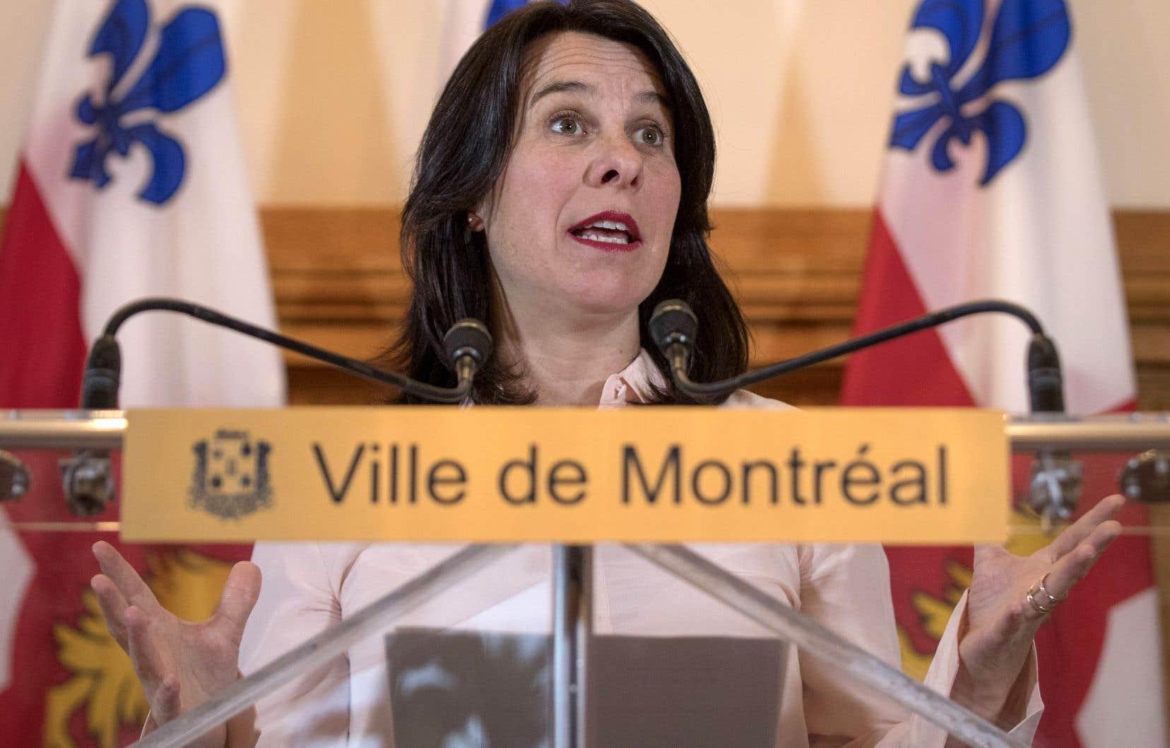La mairesse de Montréal,Valérie Plante