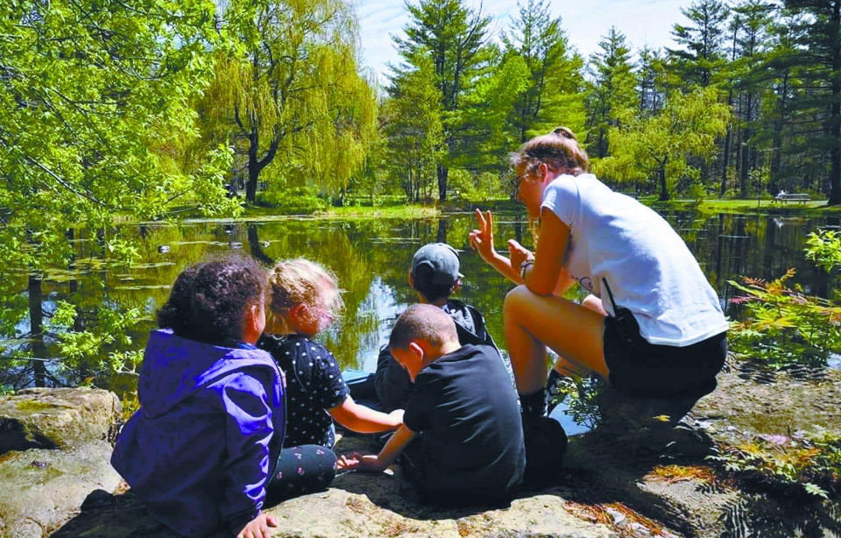 L'entreprise Défie Toi  permet aux enfants à besoins particuliers de s'épanouir en pleine nature.