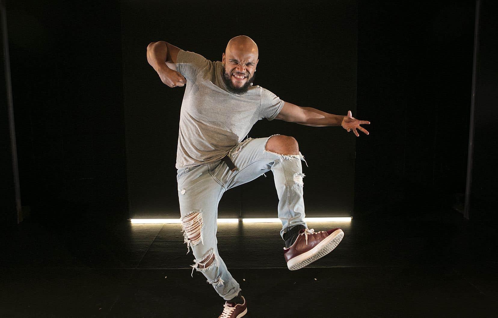 Le danseur Vladimir Laurore, alias 7Starr, est un héros local chez les adeptes du krump.