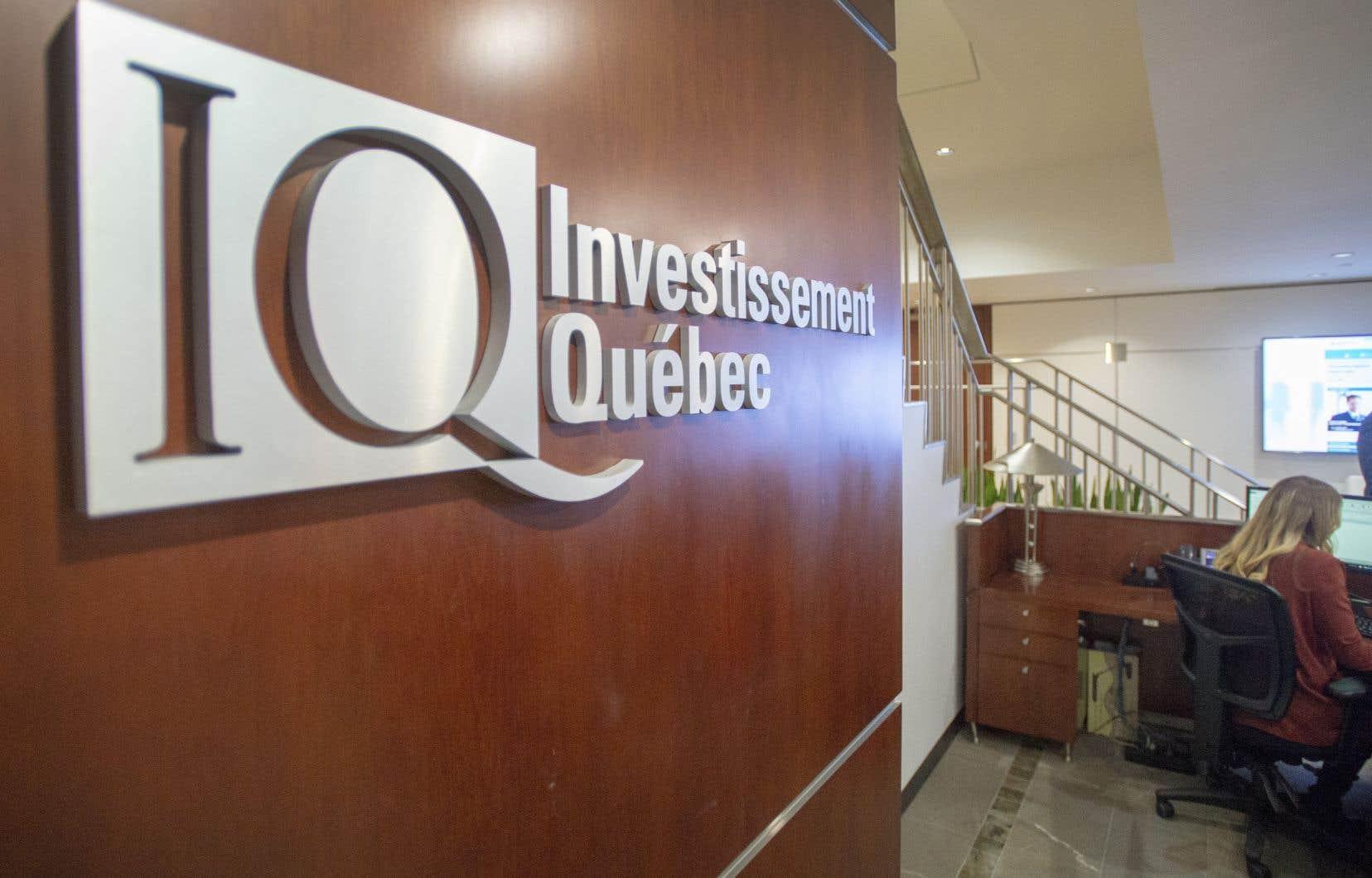 Les changements législatifs proposés pour Investissement Québec, qui découlent d'un engagement pris l'an dernier par la Coalition avenir Québec (CAQ), visent notamment à rendre l'organisme plus dynamique sur la scène mondiale.