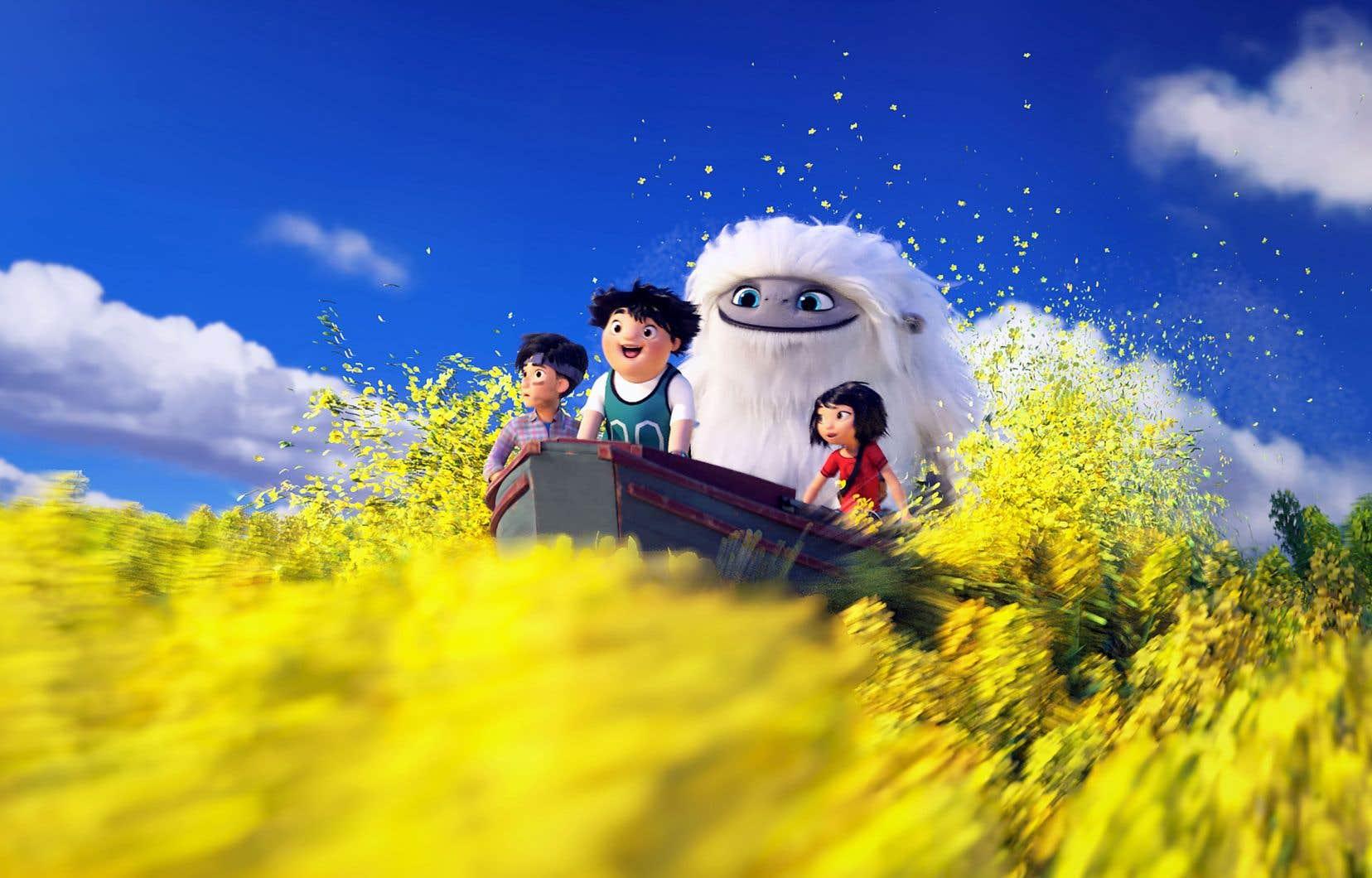 La jeune Yi et ses amis se prennent d'affection pour le yéti et entreprennent une longue épopée à travers le pays pour le ramener vers un haut sommet.