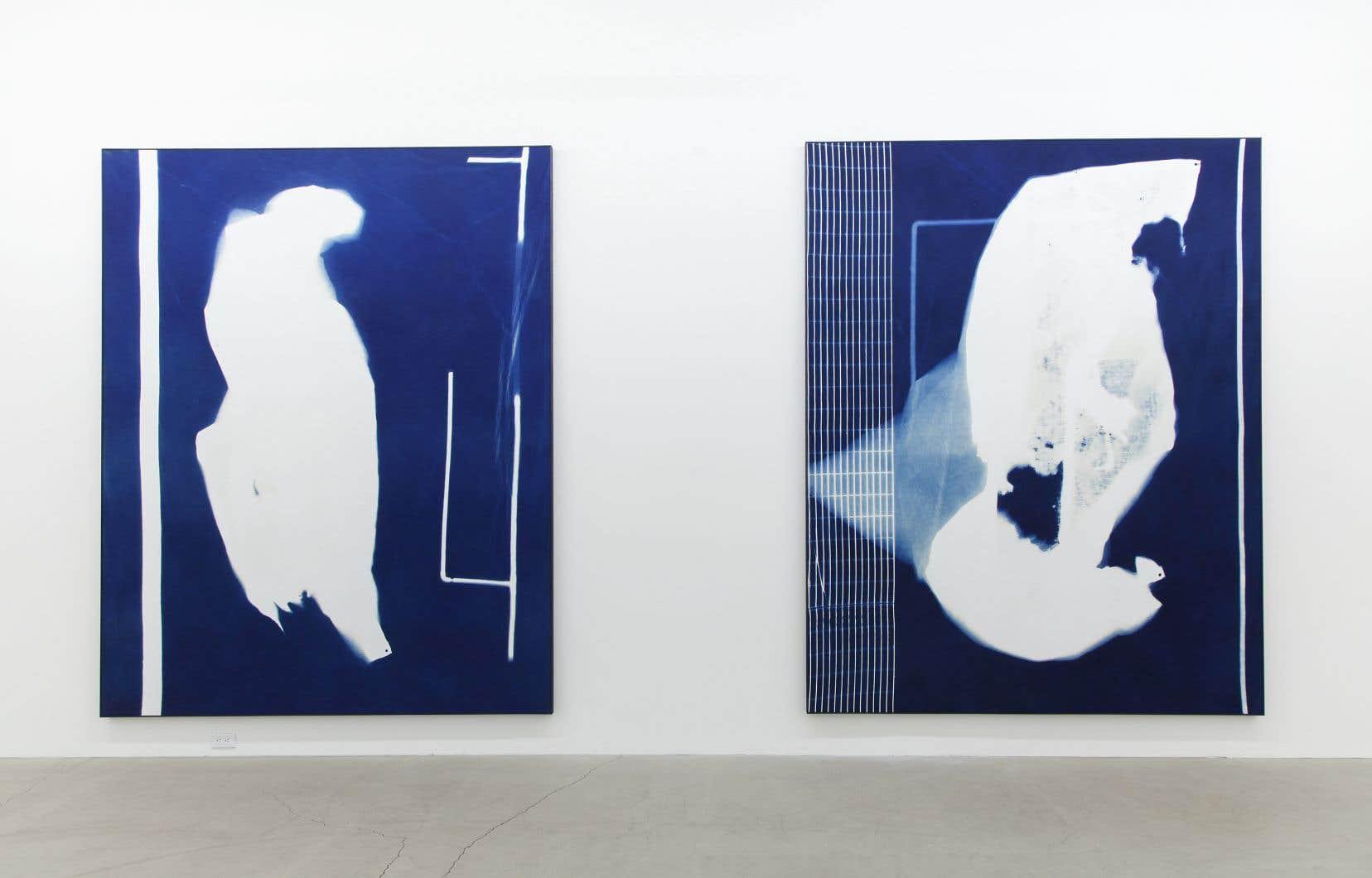 Mathieu Grenier, «Fondation #8» et «Fondation #9», 2019