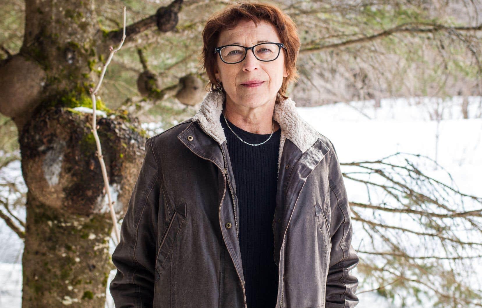 Andrée A. Michaud signe avec «Tempêtes» un thriller métaphysique.