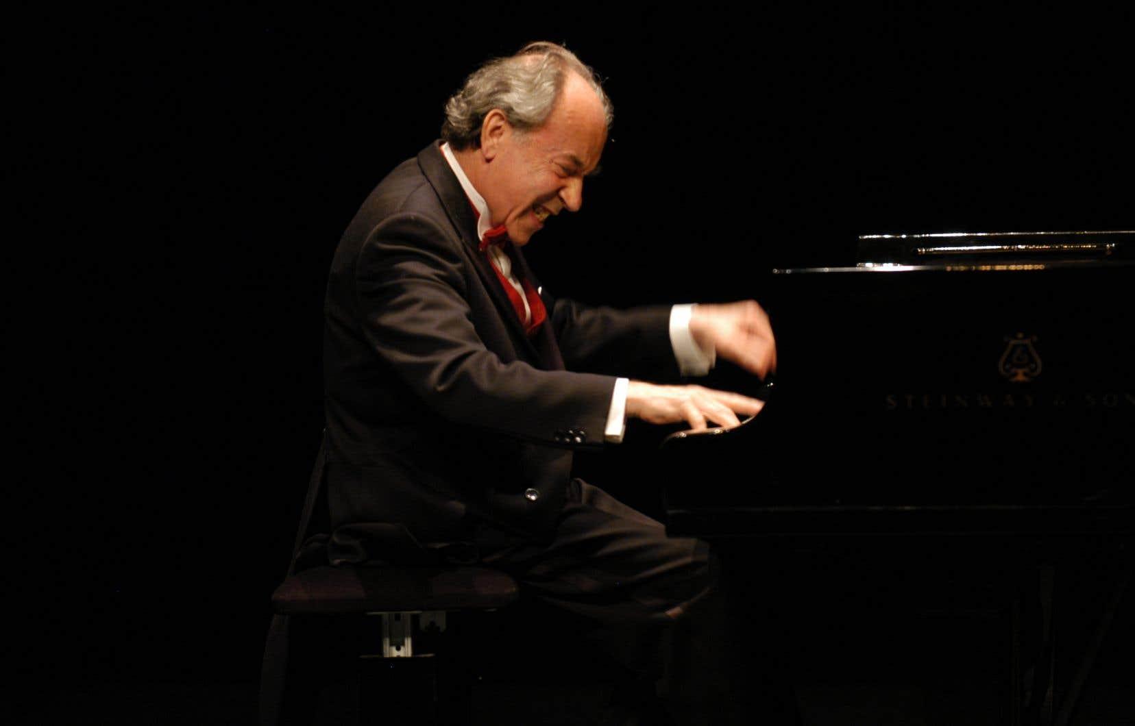 Paul Badura-Skoda lors d'un concert à Reims, en 2007