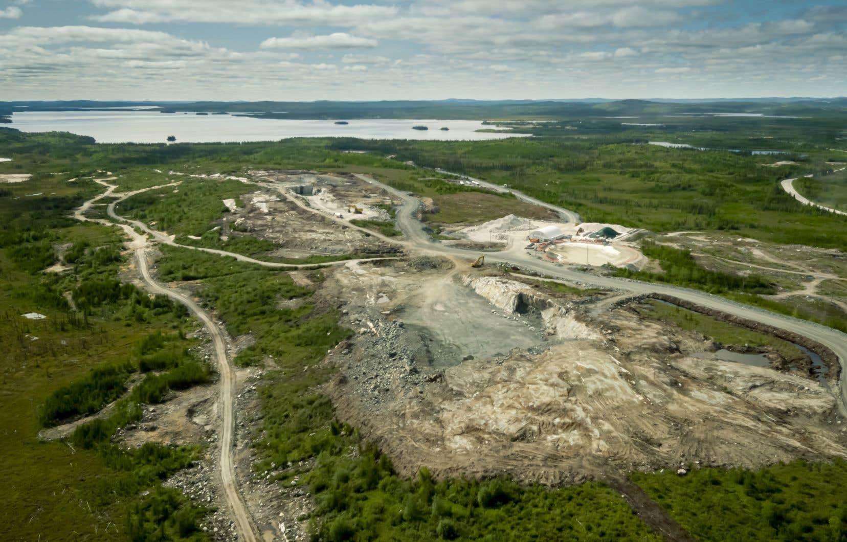 Le projet de mine et d'usine de transformation de lithium North American Lithium a été aux prises avec d'importants dépassements de coûts.