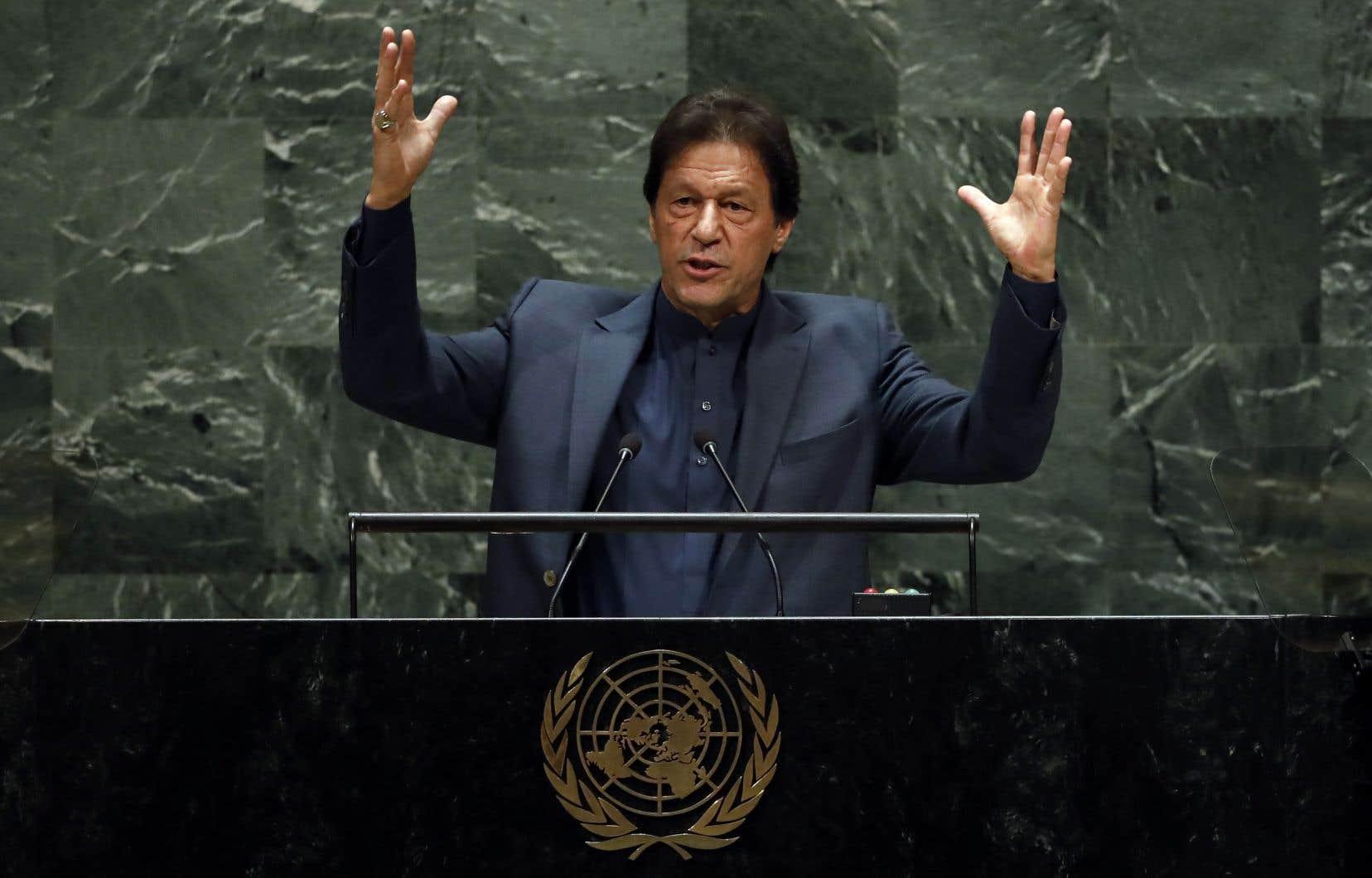 Le premier ministre pakistanais, Imran Khan