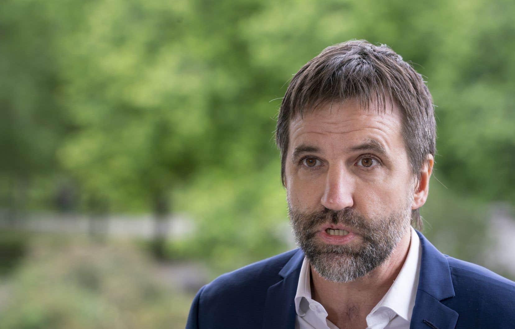 Le candidat libéral dans Laurier-Sainte-Marie,Steven Guilbeault