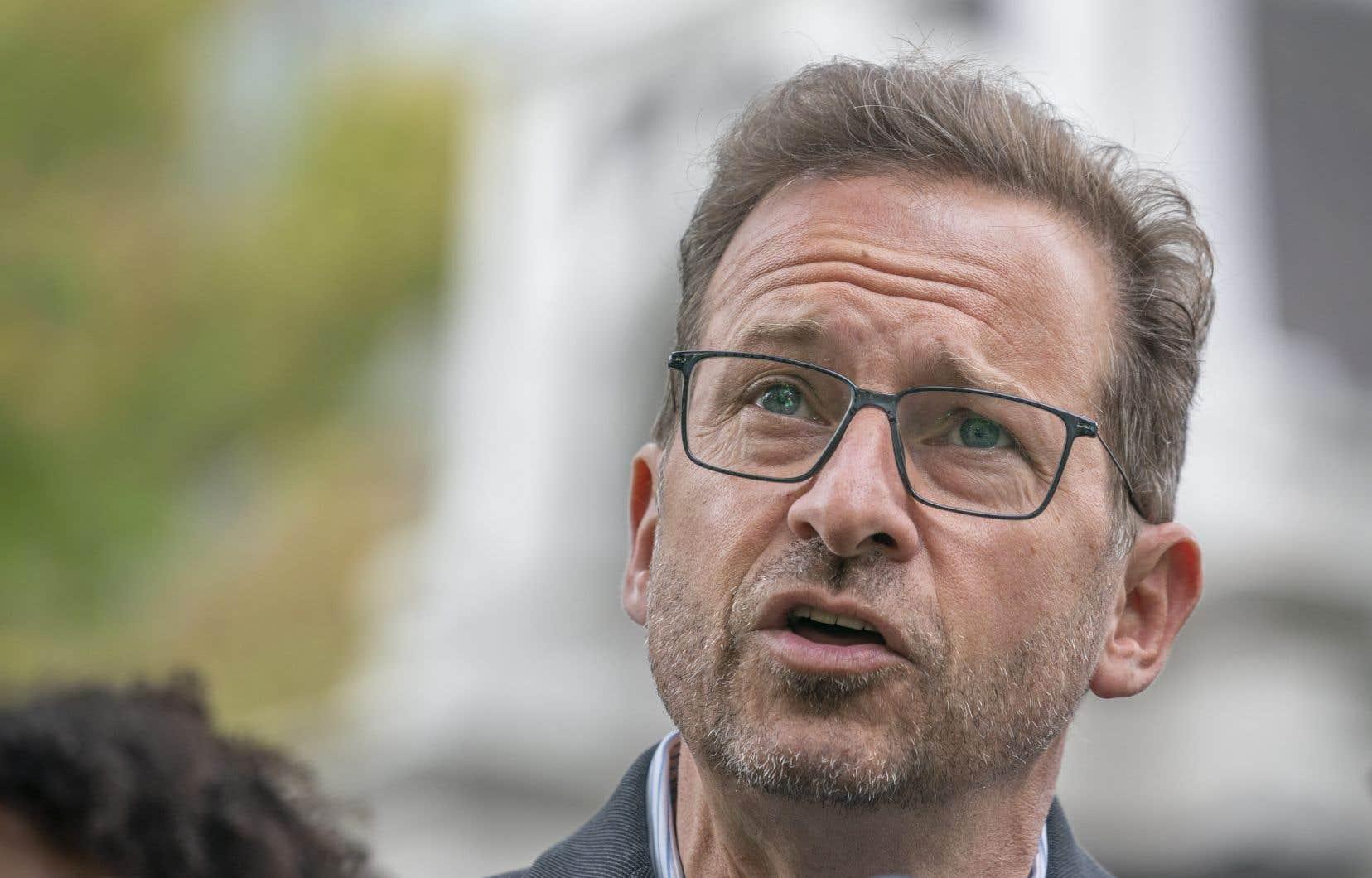 Yves-François Blanchet, chef du Bloc québécois