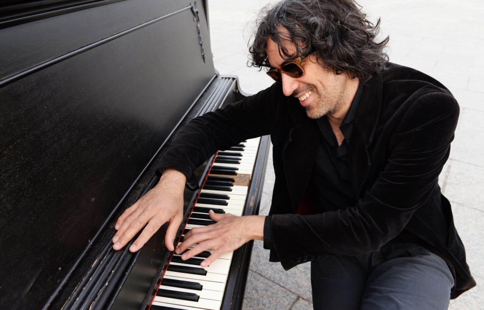 Le pianiste Andrés Vial