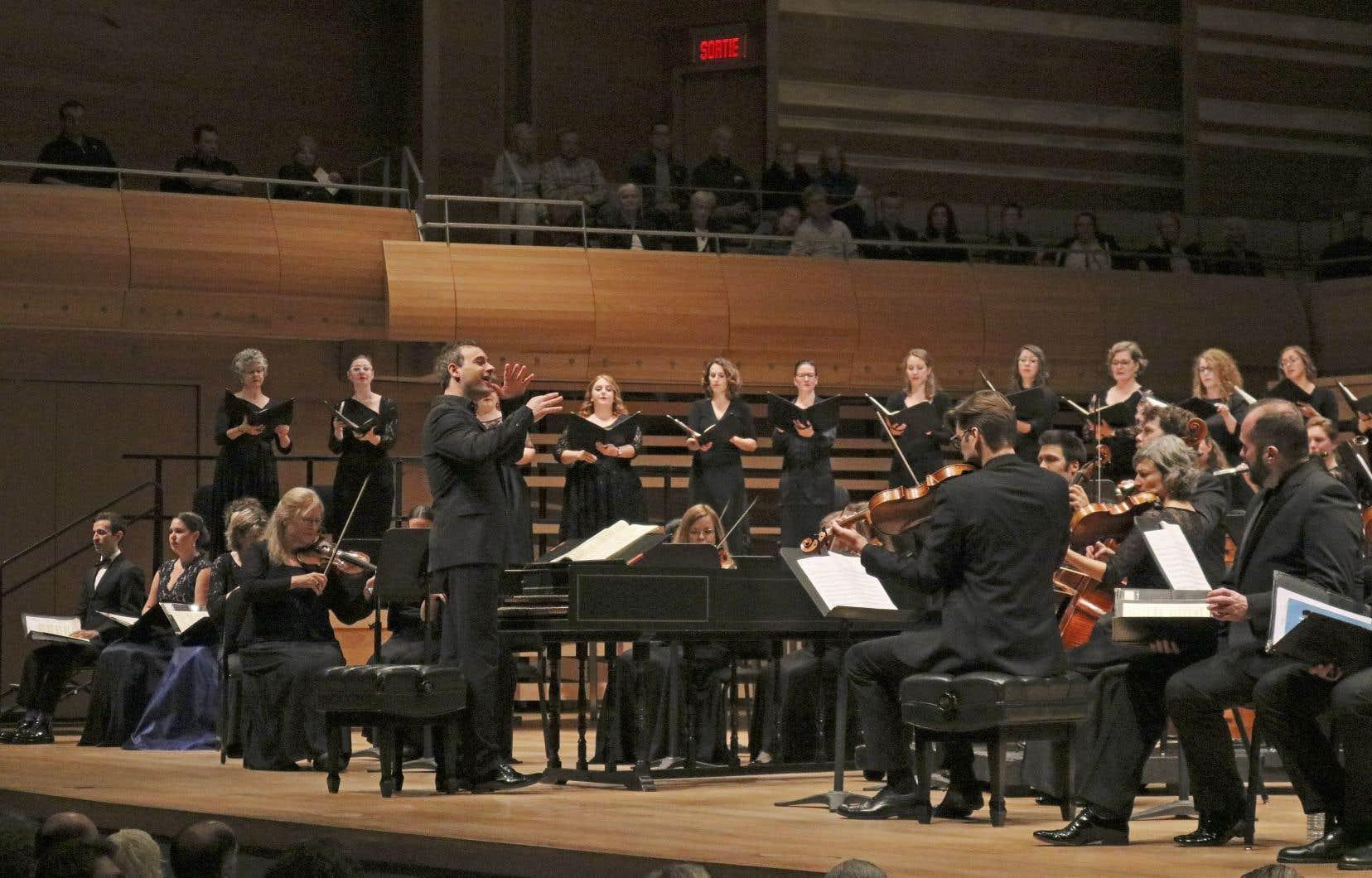 La mayonnaise prend indubitablement avec le chef d'orchestre Jonathan Cohen.