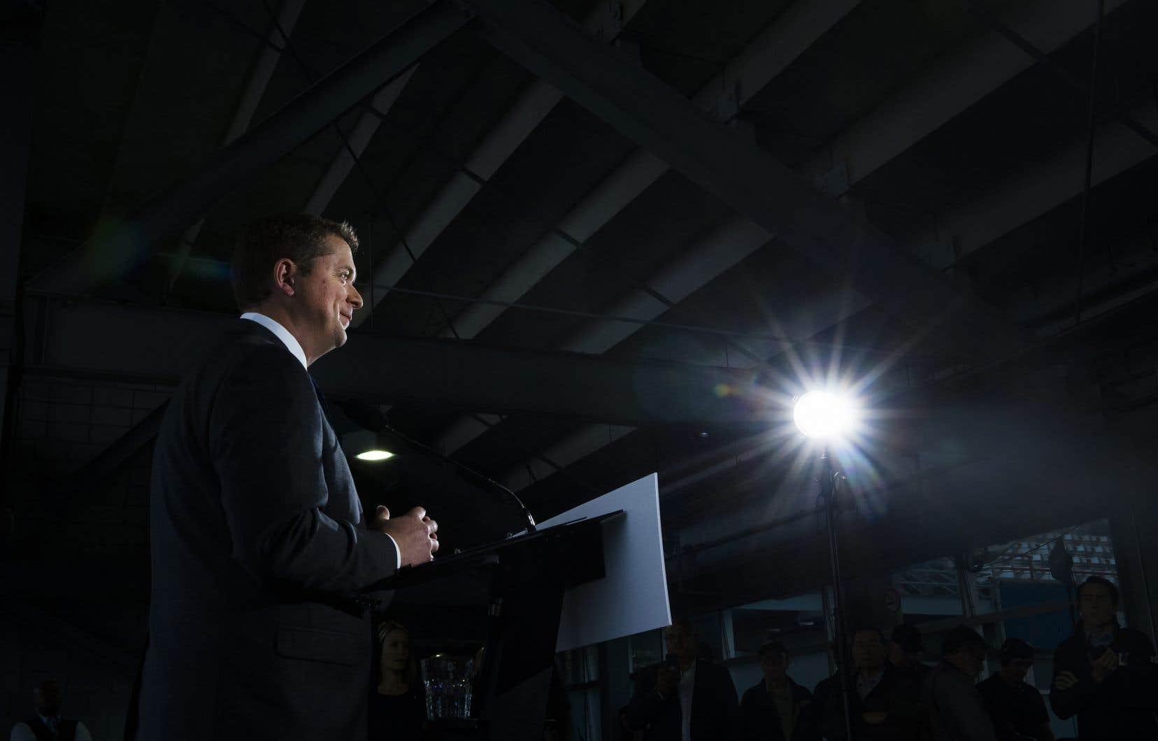 Le chef du Parti conservateur, Andrew Scheer