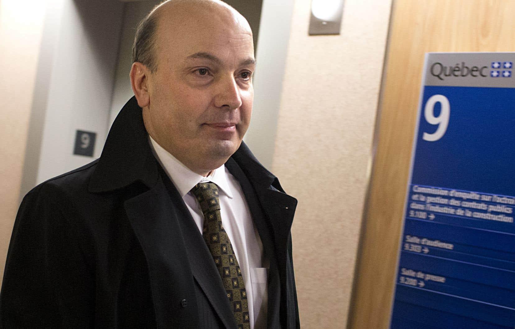 L'ex-président du comité exécutif de la Ville de Montréal, Frank Zampino