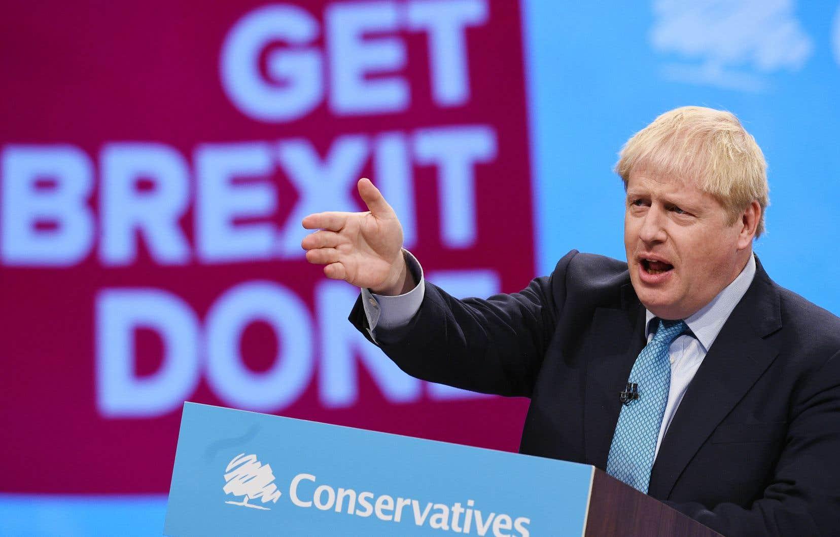 Boris Johnson a averti qu'en cas de rejet de son plan, le Royaume- Uni sortira de l'UE «quoi qu'il arrive».