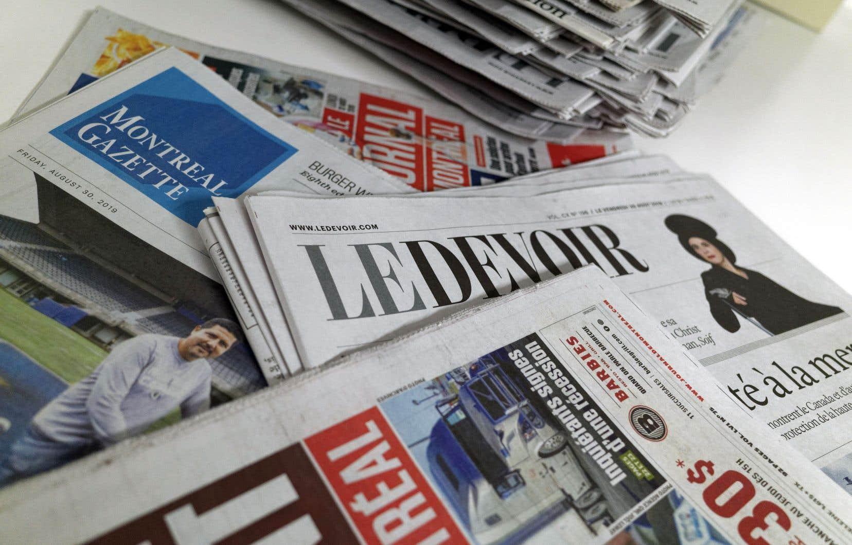 Les entreprises de presse écrite pourront bénéficier d'un crédit d'impôt remboursable équivalent à 35 % des salaires qu'elles auront engagés à compter du 1er janvier 2019 à l'égard de certains types d'employés.
