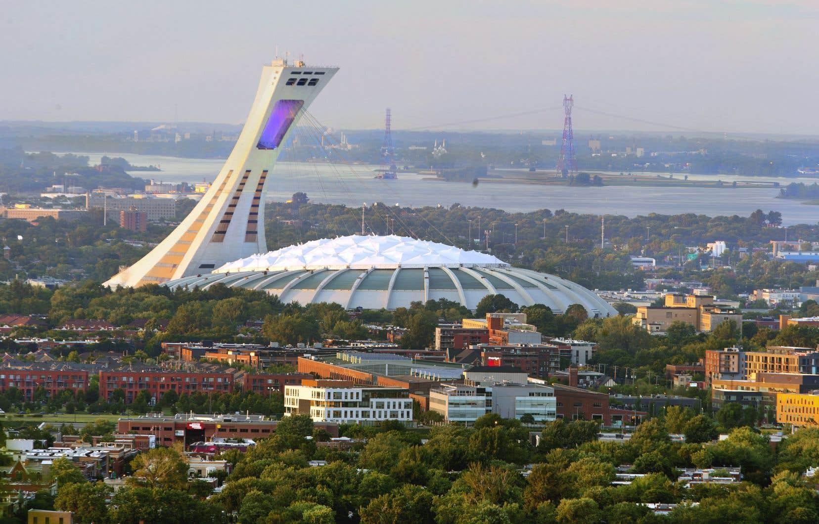 Le Stade olympique est considéré comme l'une des oeuvres marquantes del'architecte Roger Taillibert.