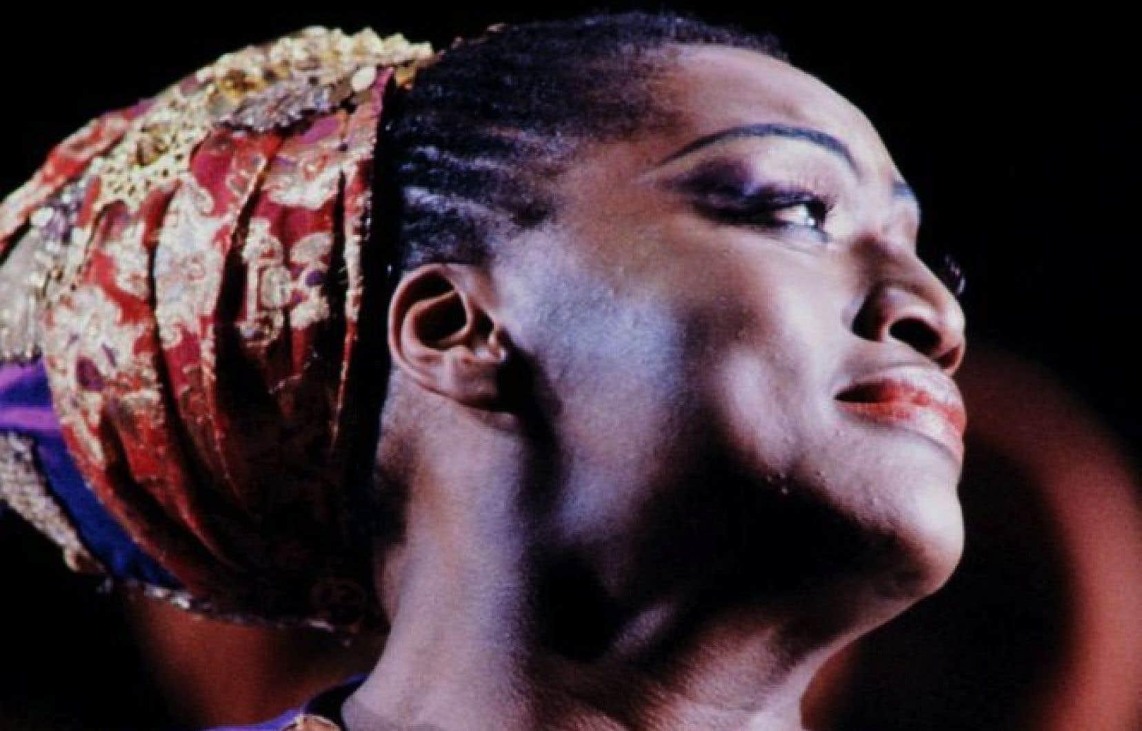Cette photo de 1984 montre la soprano Jessye Norman dans Dido et Aeneas, de Purcell, à l'Opéra-Comique de Paris.