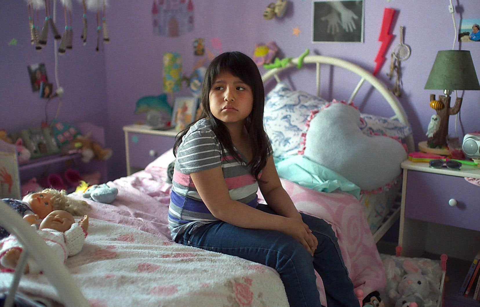 Une scène du film «Kuessipan», dans lequel la caméra chaleureuse de Myriam Verreault enveloppe ses sujets et la voix de la romancière Naomi Fontaine vibre du début à la fin.