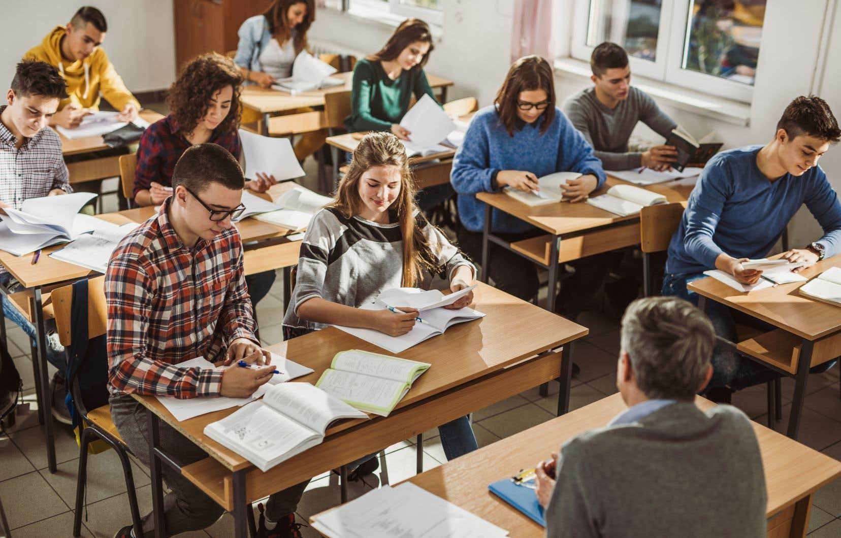 «Les enseignants doivent se sentir soutenus et valorisés», insiste l'auteur.