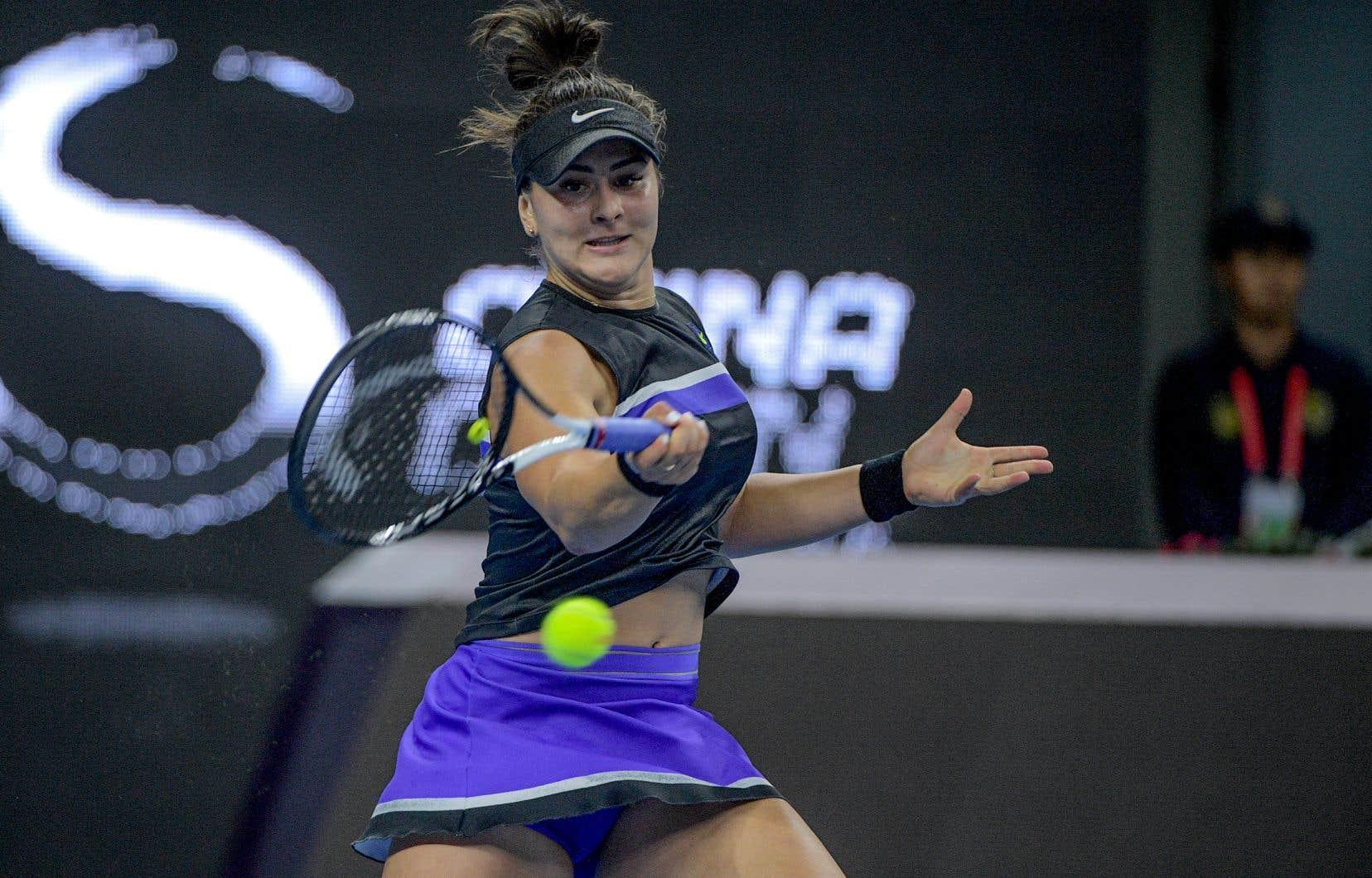 Bianca Andreescu a subi à Pékin une première défaite en 18 matchs.