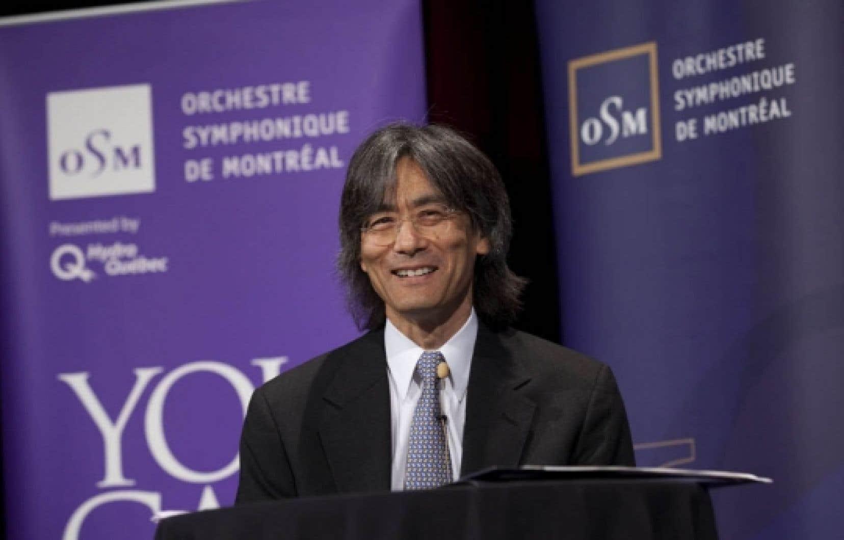 C'est au cours d'une conférence de presse hier que le directeur musical de l'OSM, Kent Nagano, a dévoilé la programmation de l'orchestre pour la saison 2010-2011, dans sa nouvelle demeure.