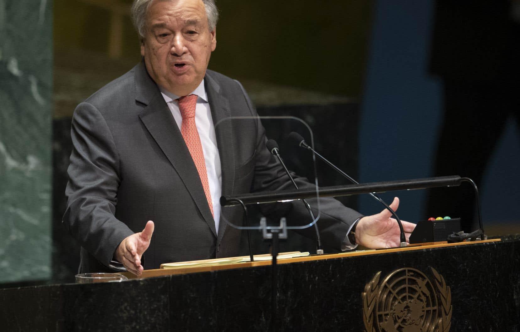 Dans un communiqué émis mardi, le secrétaire général Antonio Guterres évoque «la pire crise de trésorerie des Nations unies depuis près d'une décennie».