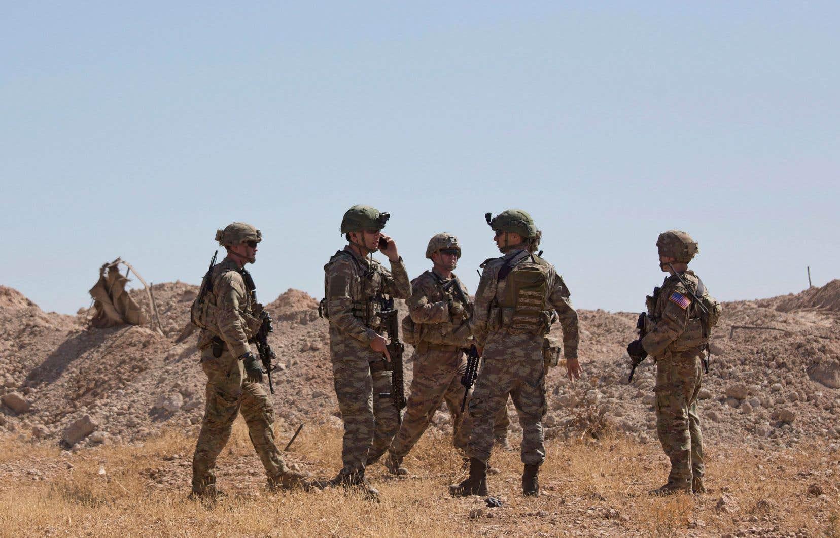 La tension dans le nord-est de la Syrie est montée d'un cran après l'annonce par la Maison-Blanche que les militaires américains stationnés dans la zone seraient retirés en vue d'une opération turque.