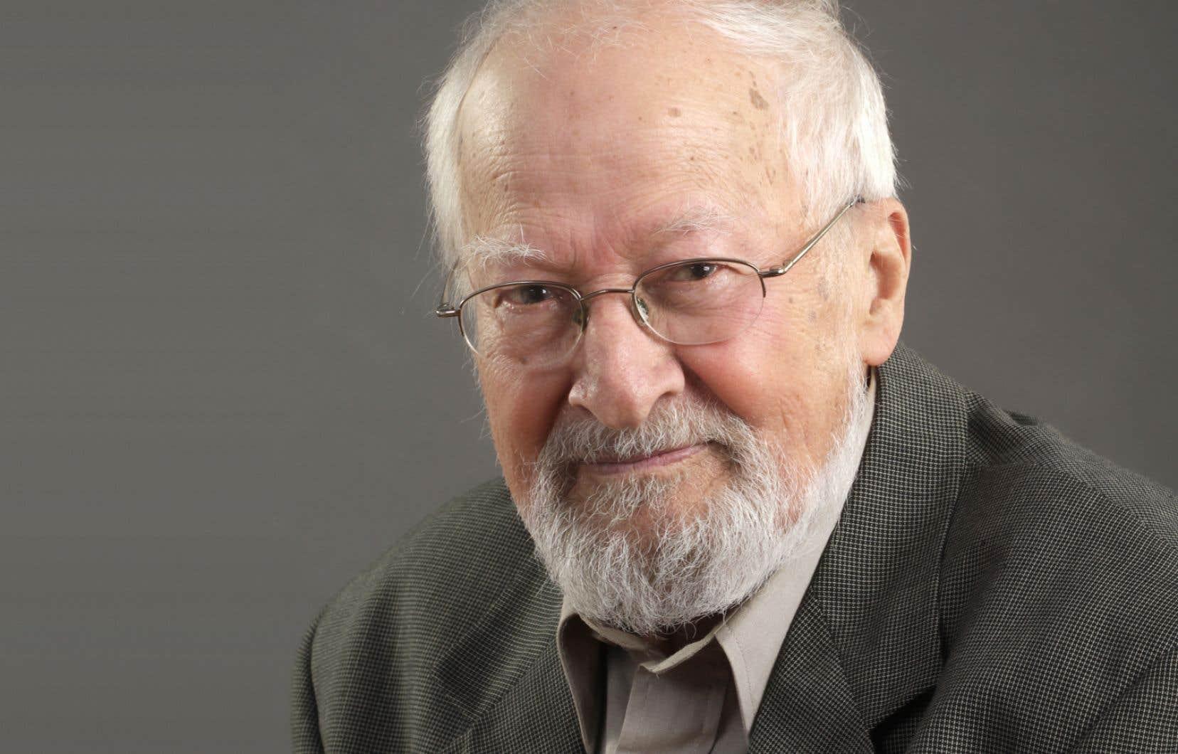 L'écrivain Gérald Tougas
