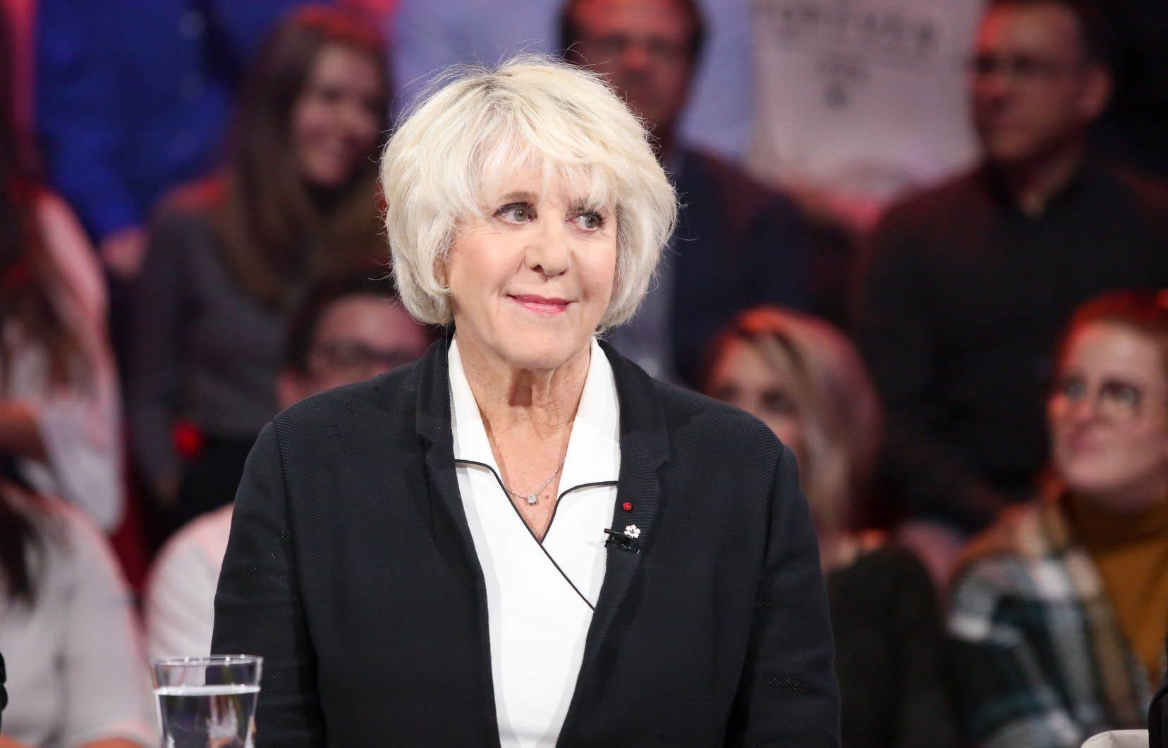 Denise Bombardier, à l'émission «Tout le monde en parle» du 6 octobre 2019