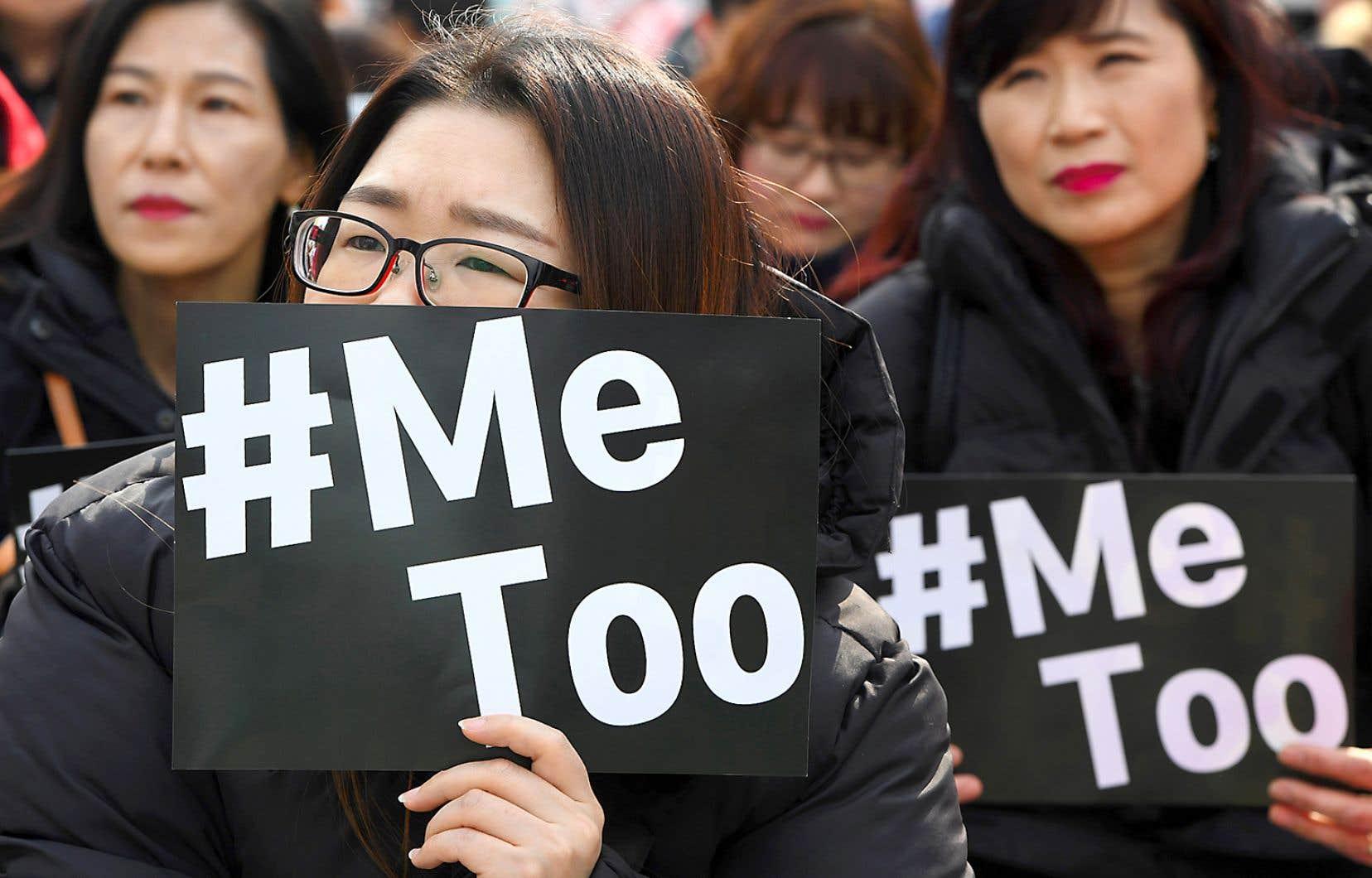Le mot-clic #MeToo est partagé par des millions de victimes sur les réseaux sociaux.