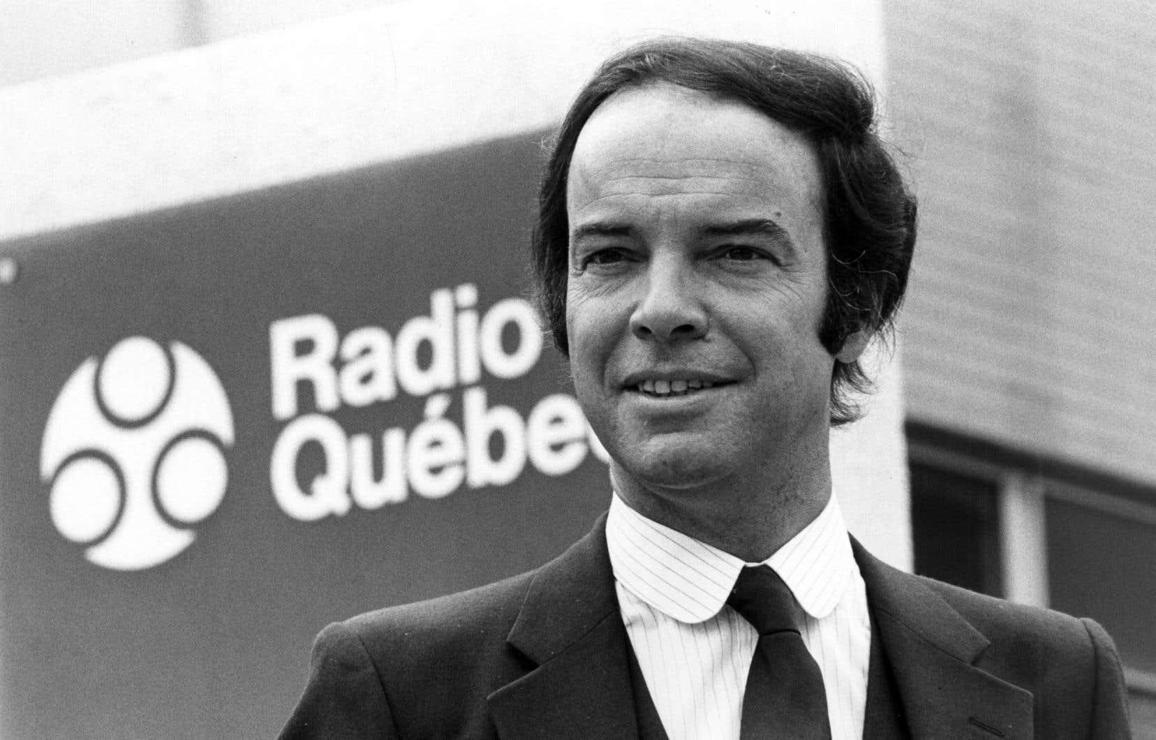 Le journalistePierre Nadeau