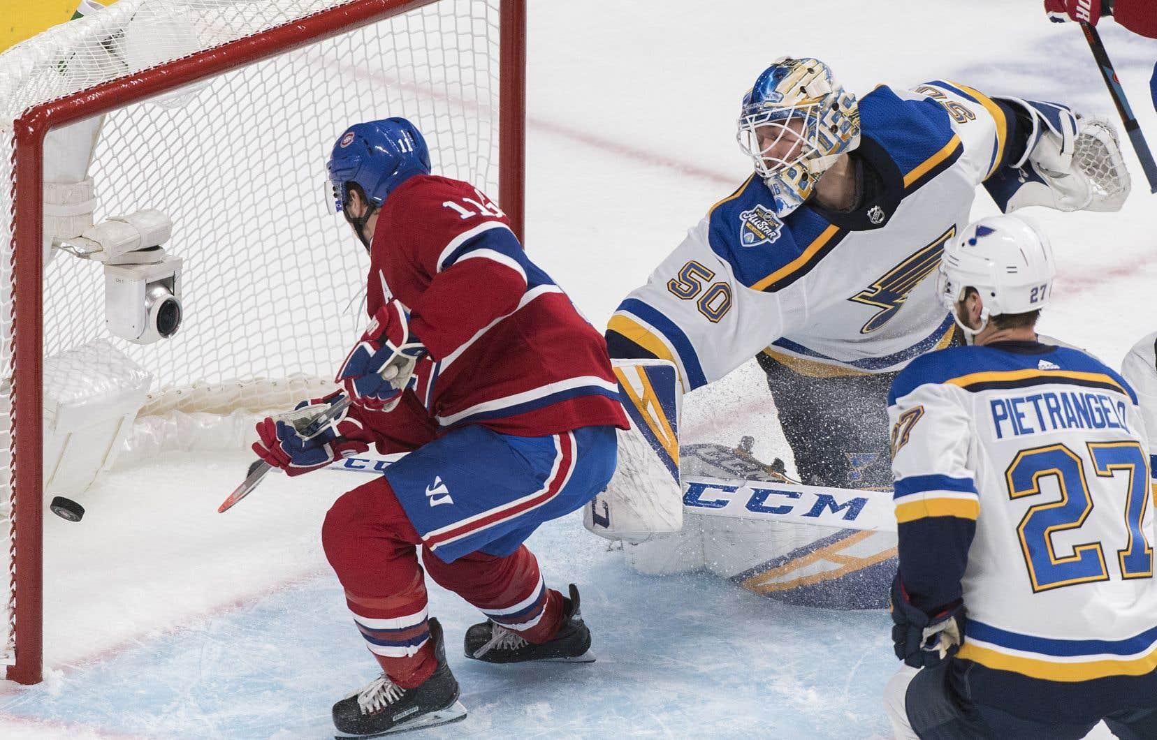 Le Canadien de Montréal a battu les Blues de Saint Louis 6-3 samedi.