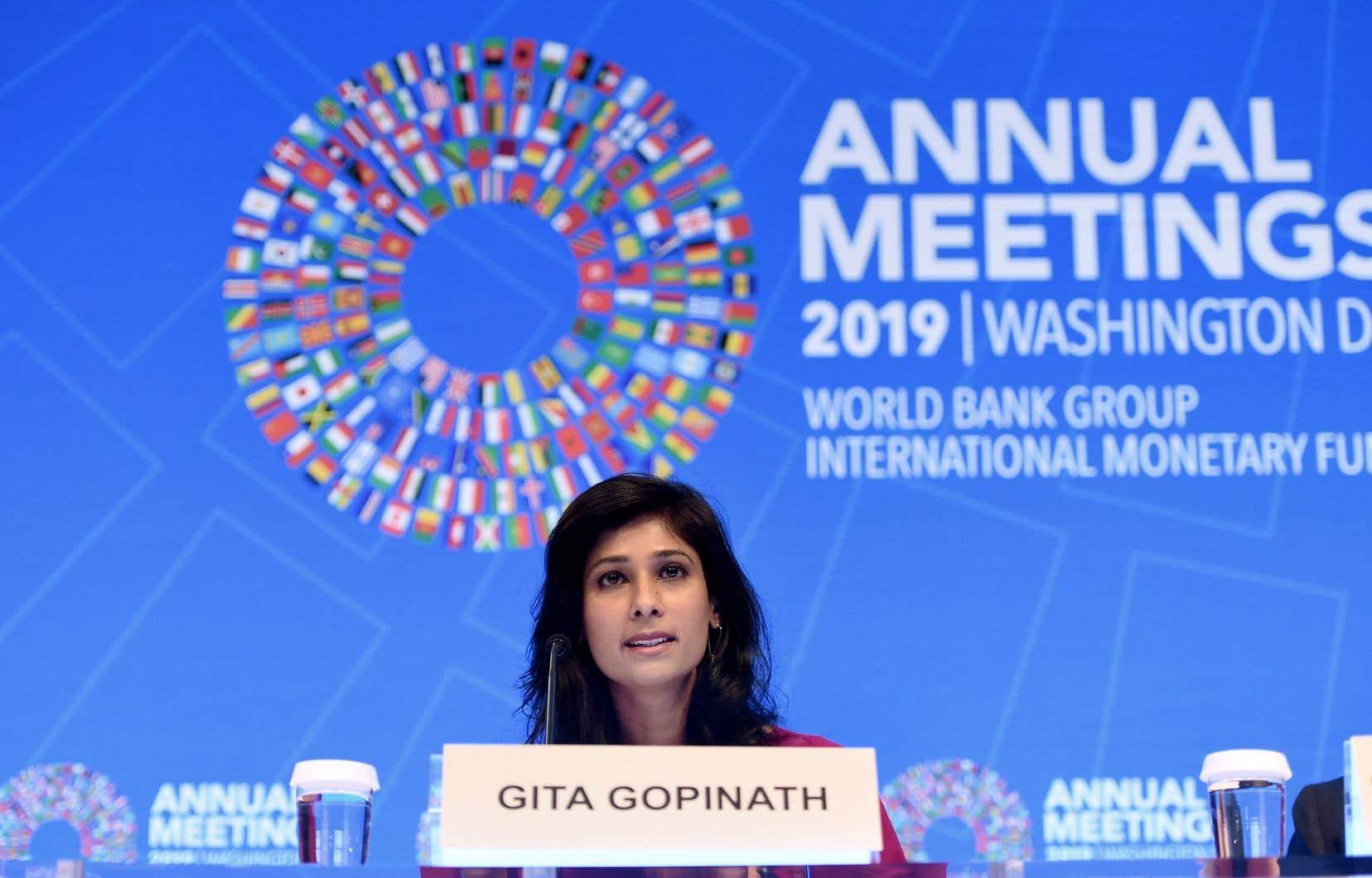 En dévoilant les dernières prévisions de l'organisation pour 2019, Gita Gopinath, l'économiste en chef du FMI, a pressé les décideurs politiques de réduire «urgemment» les tensions commerciales.