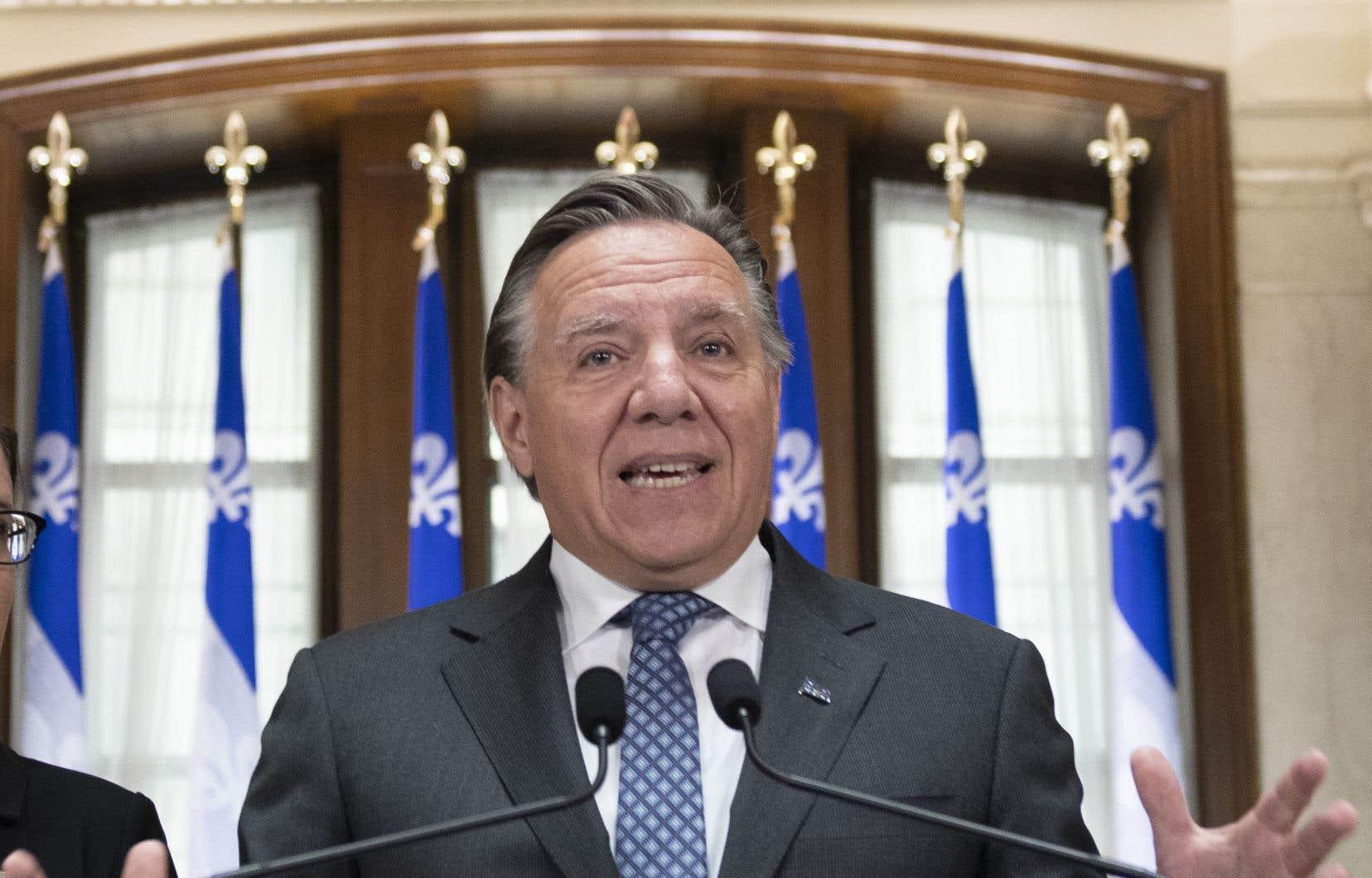 François Legault a lancé un «appel à la négociation pacifique du différend» entre les indépendantistes catalans et Madrid.