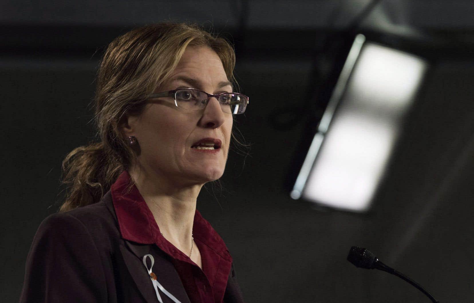 Si le Parti conservateur gagne lors du scrutin de lundi prochain, le lobby des armes aura gagné, estime Heidi Rathjen, coordonnatrice de PolySeSouvient.