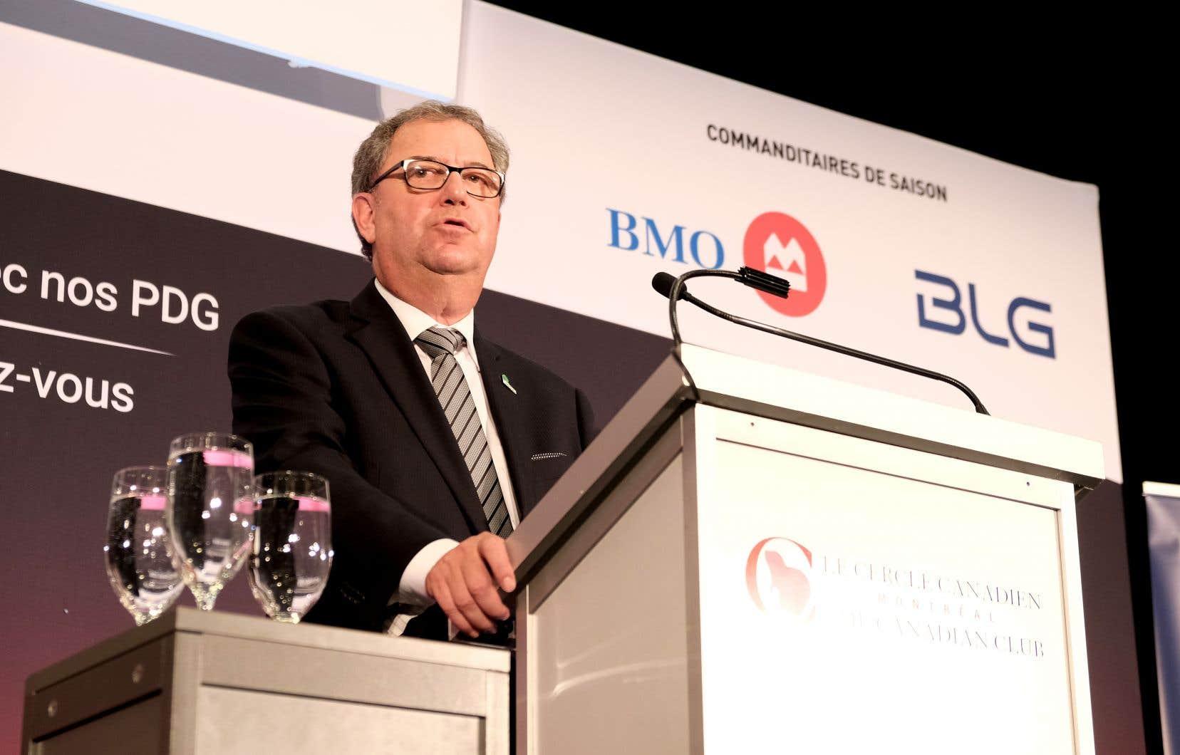 Le président et chef de la direction de Résolu, Yves Laflamme